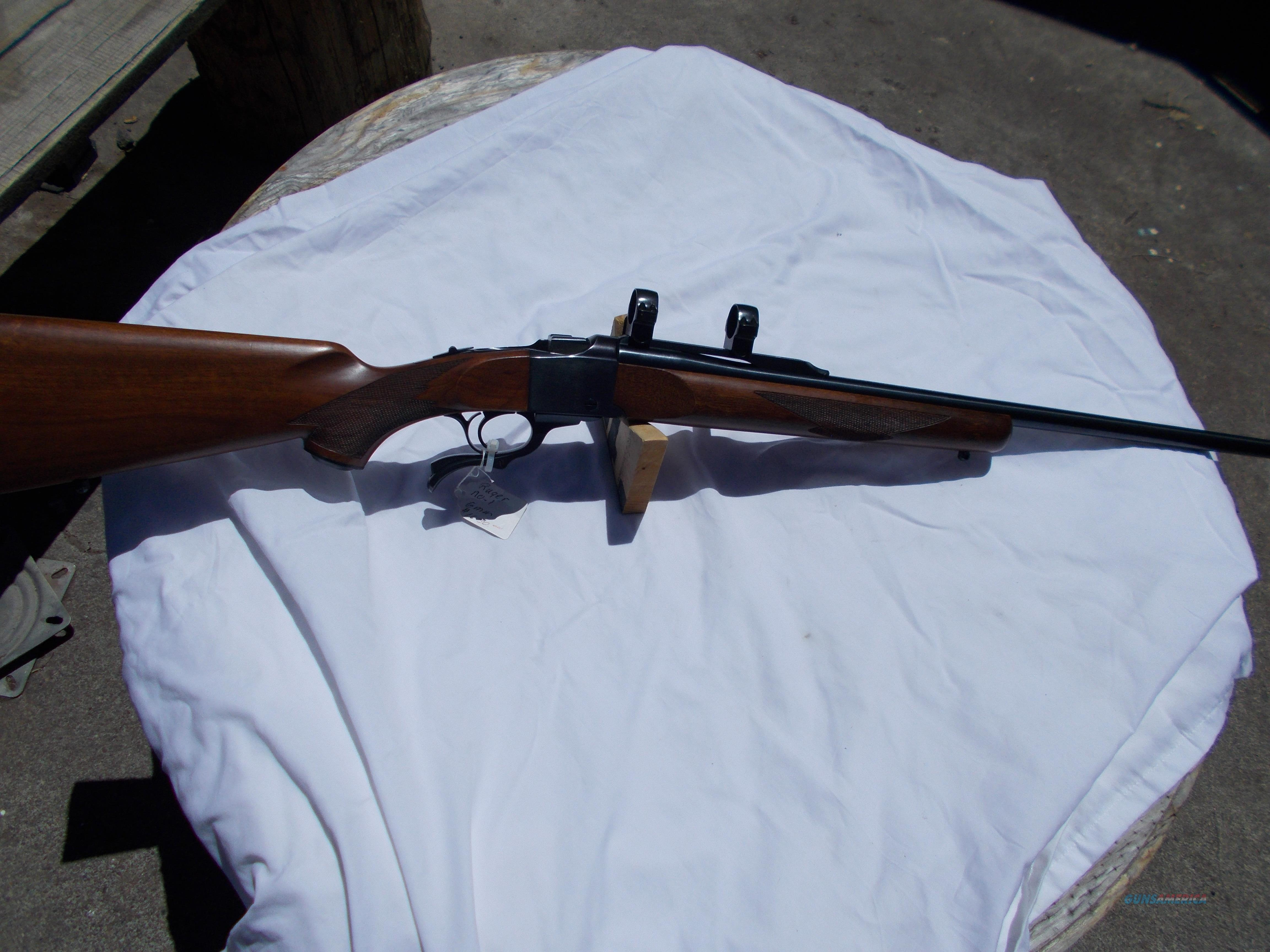 ruger No-1 6mm  Guns > Rifles > Ruger Rifles > #1 Type