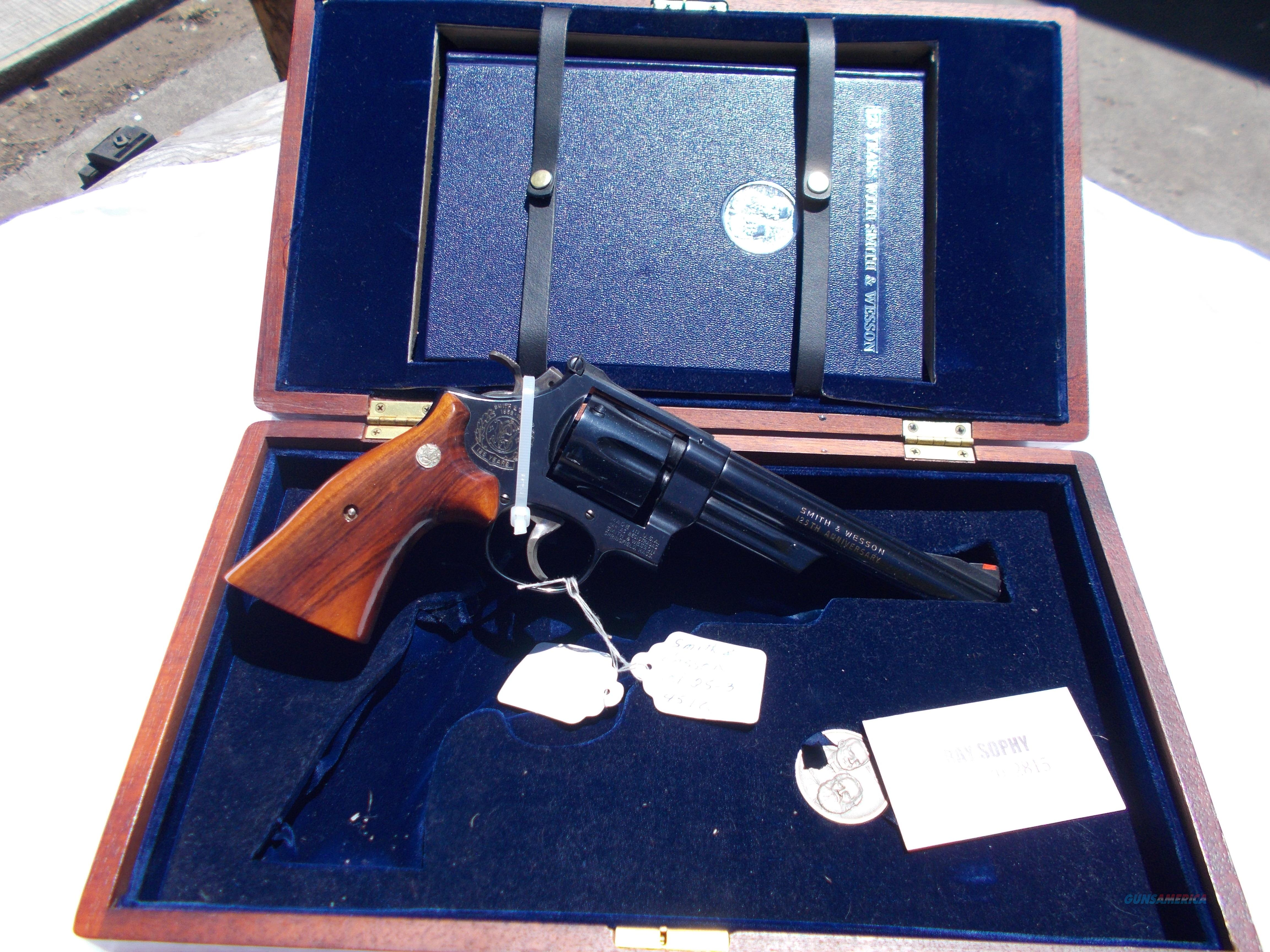 125yrs of S&W mod.25-3 45colt w/coin&book  Guns > Pistols > Smith & Wesson Revolvers > Full Frame Revolver