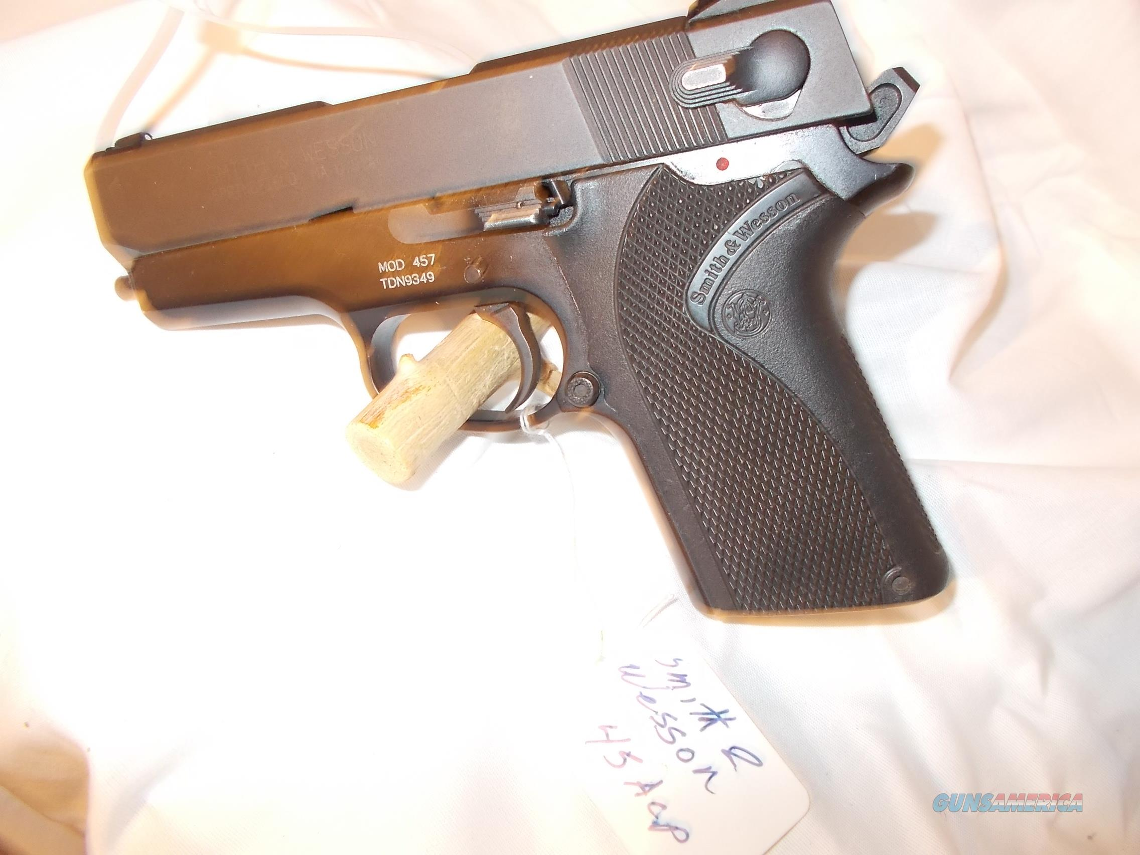 smith&wesson mod.457 45acp  Guns > Pistols > Smith & Wesson Pistols - Autos > Steel Frame