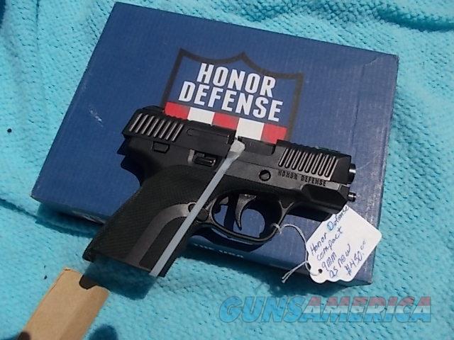 honor defense 9mm  Guns > Pistols > Honor Defense Pistols