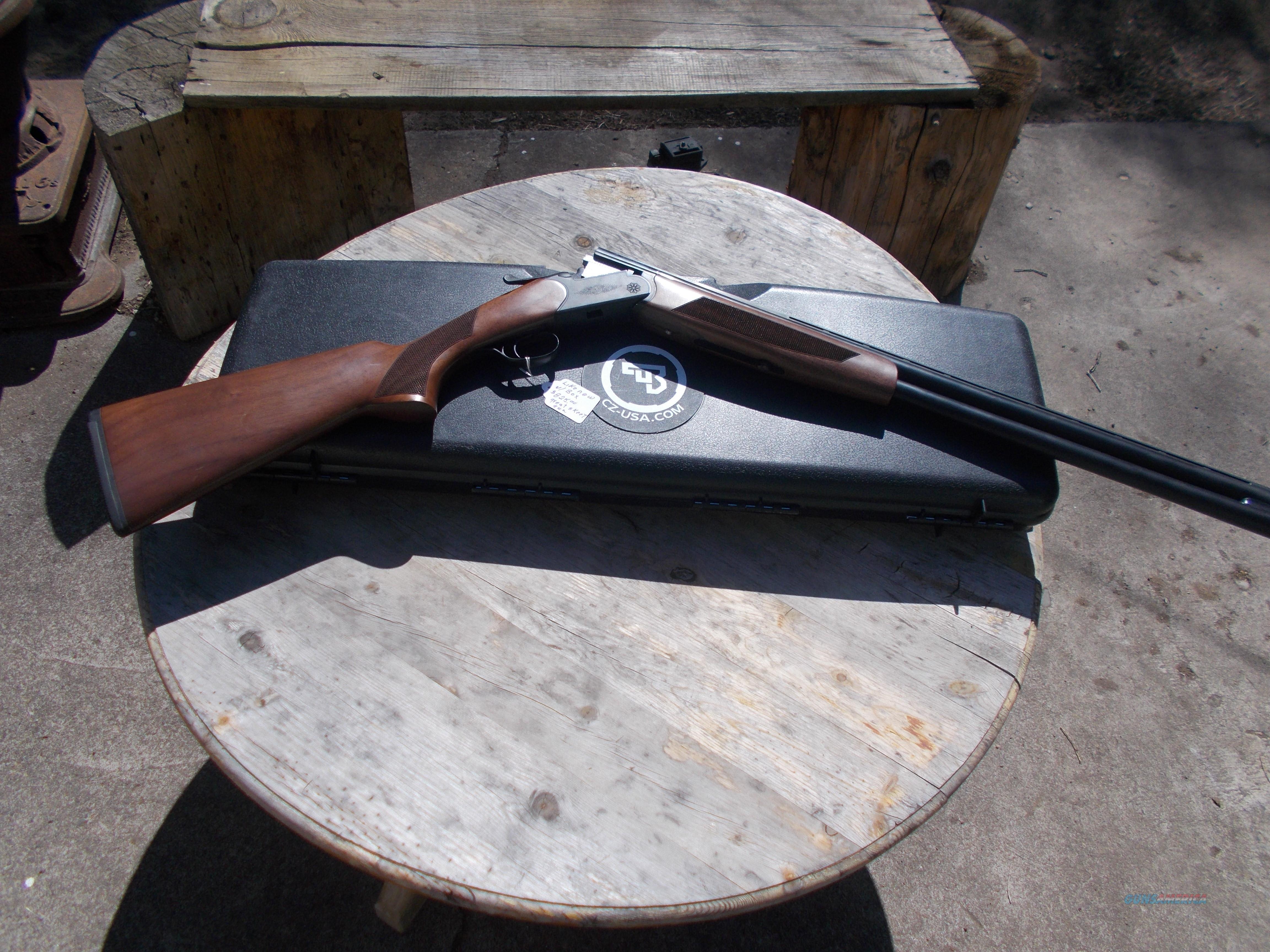 CZ O/U drake g-2 12 guage  Guns > Shotguns > CZ Shotguns