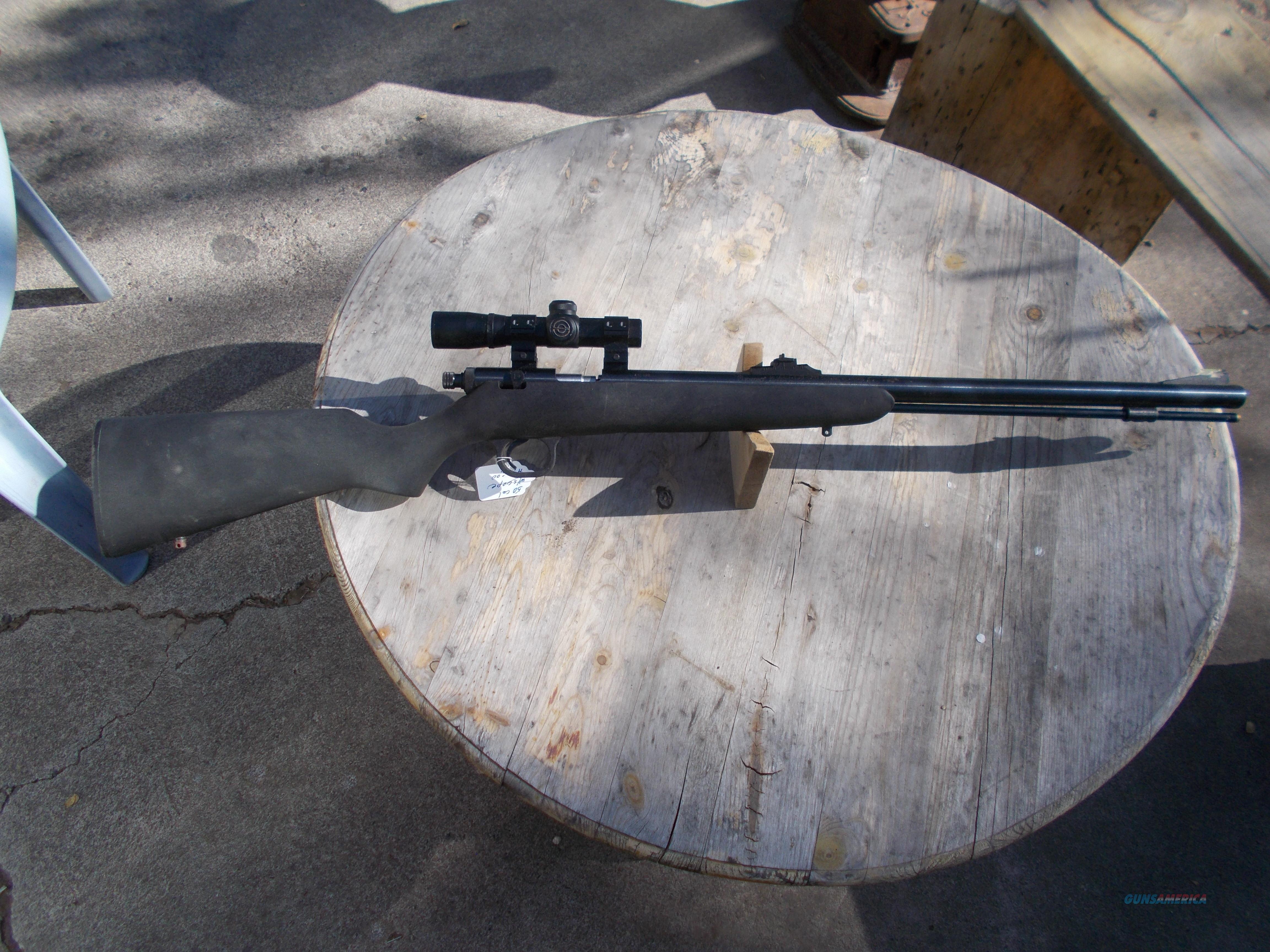 knight 50 cal muzzle loader w/scope  Guns > Rifles > Knight's Manufacturing Rifles