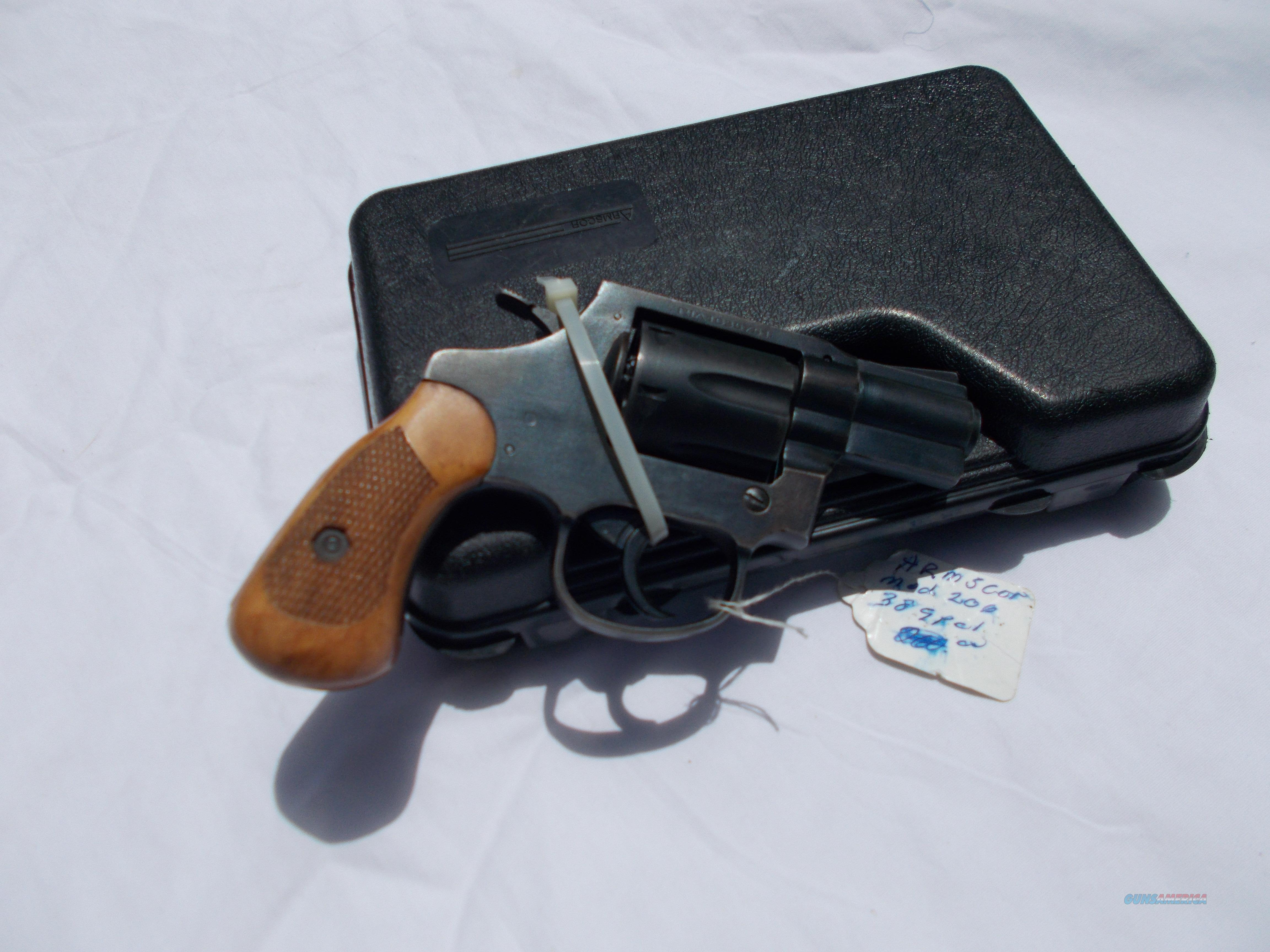 armscor model 206 38 spl  Guns > Pistols > Armalite Pistols