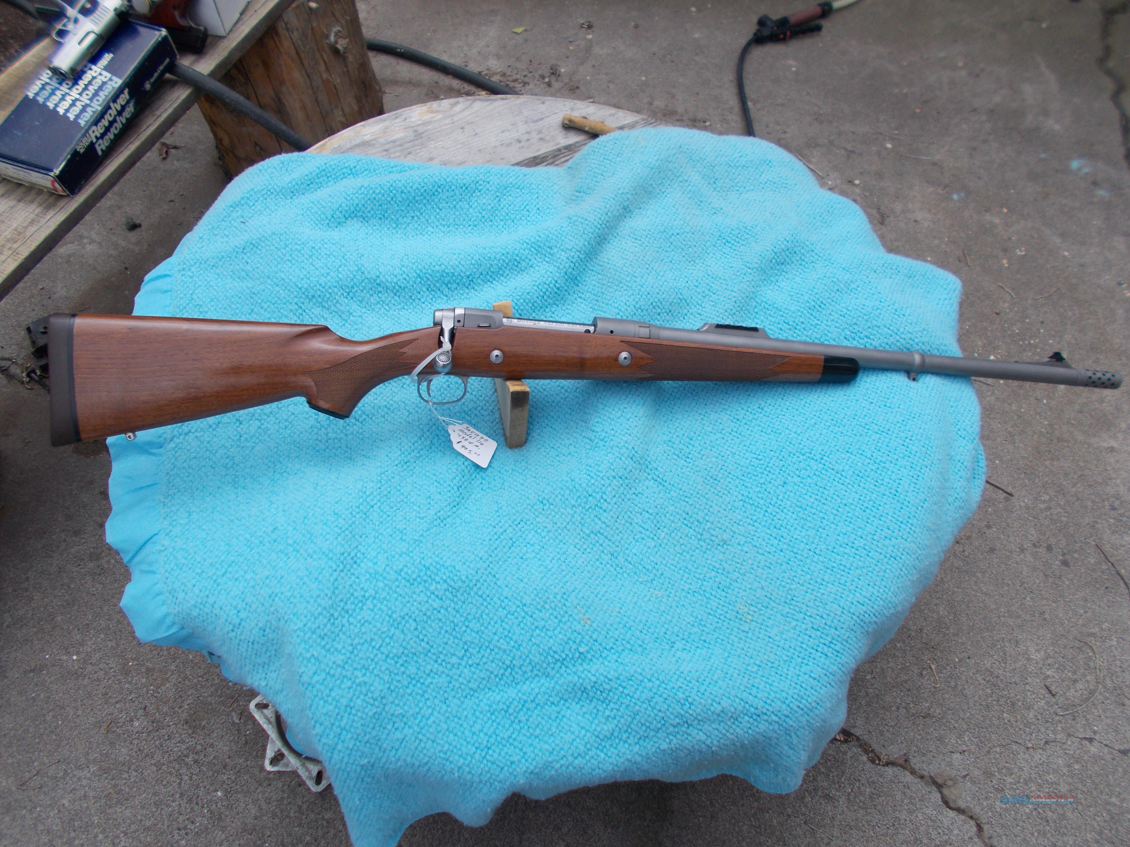 savage safari express 458 w.m.  Guns > Rifles > Savage Rifles > 16/116