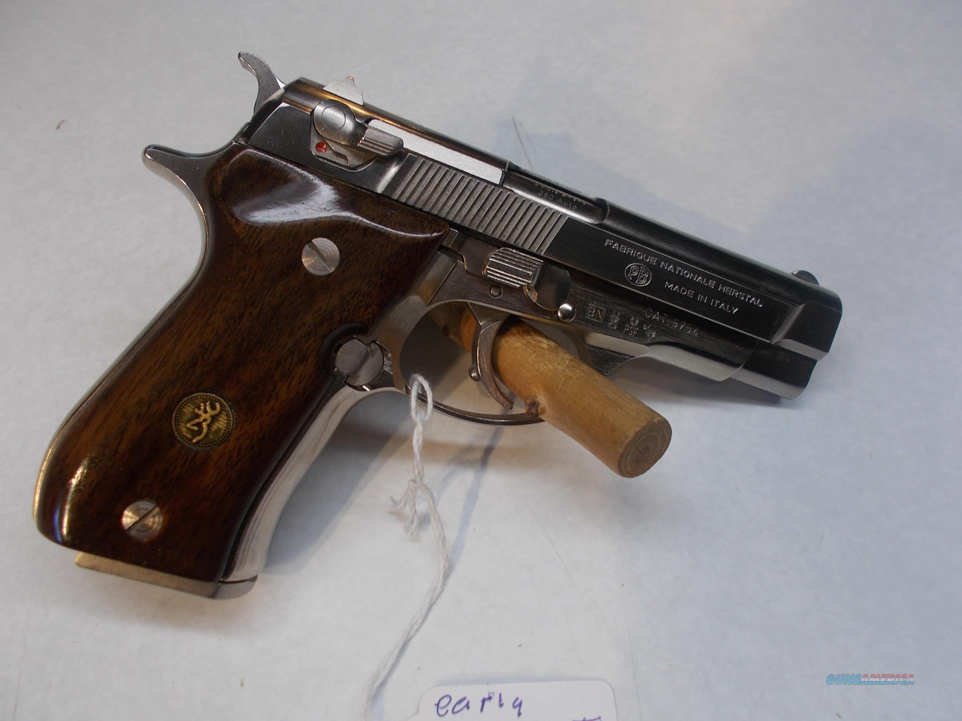 browning BDA FN 380 made in italy  Guns > Pistols > Browning Pistols > Other Autos