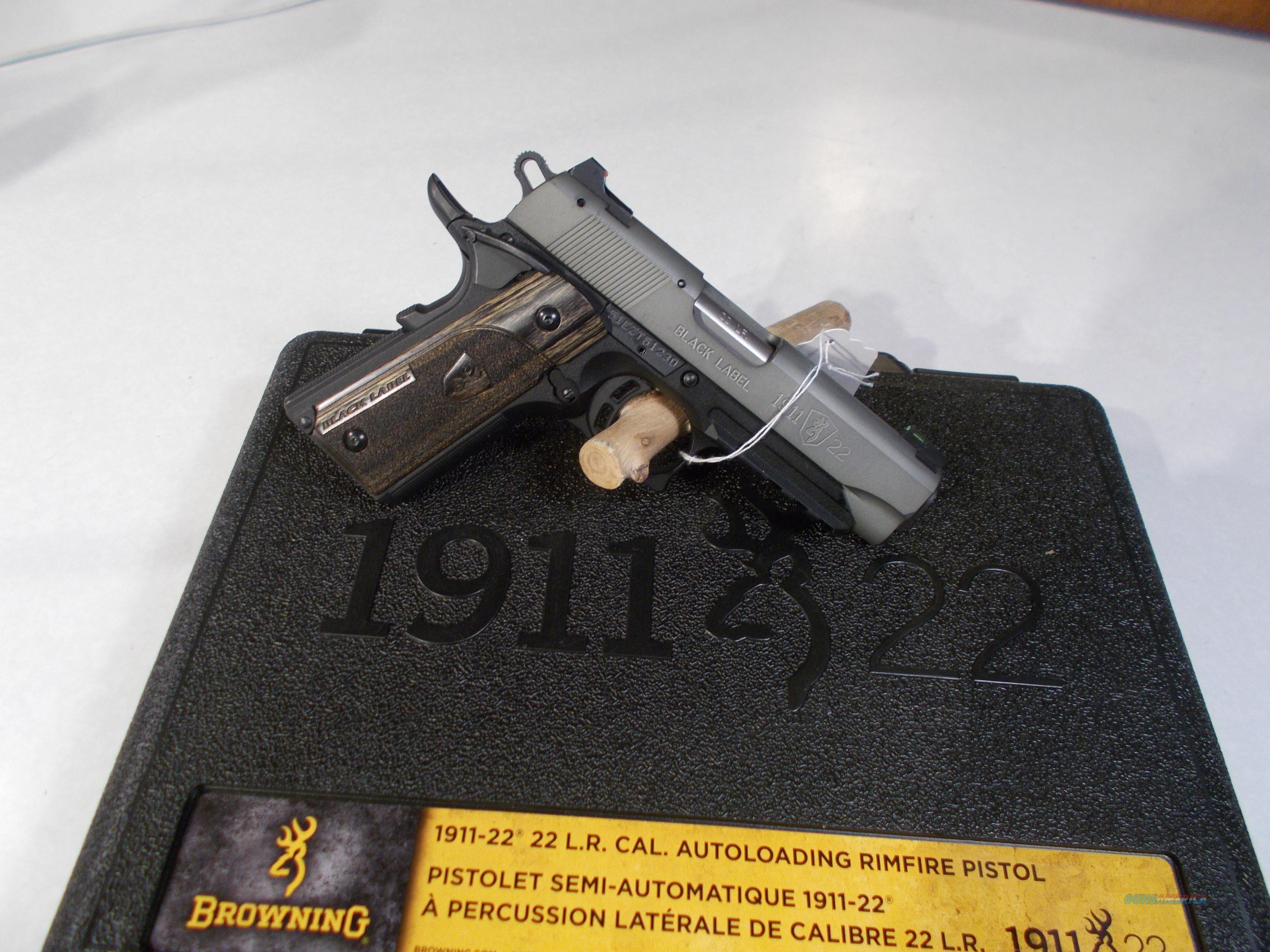 NIB browning 1911- 22lr  Guns > Pistols > Browning Pistols > Other Autos