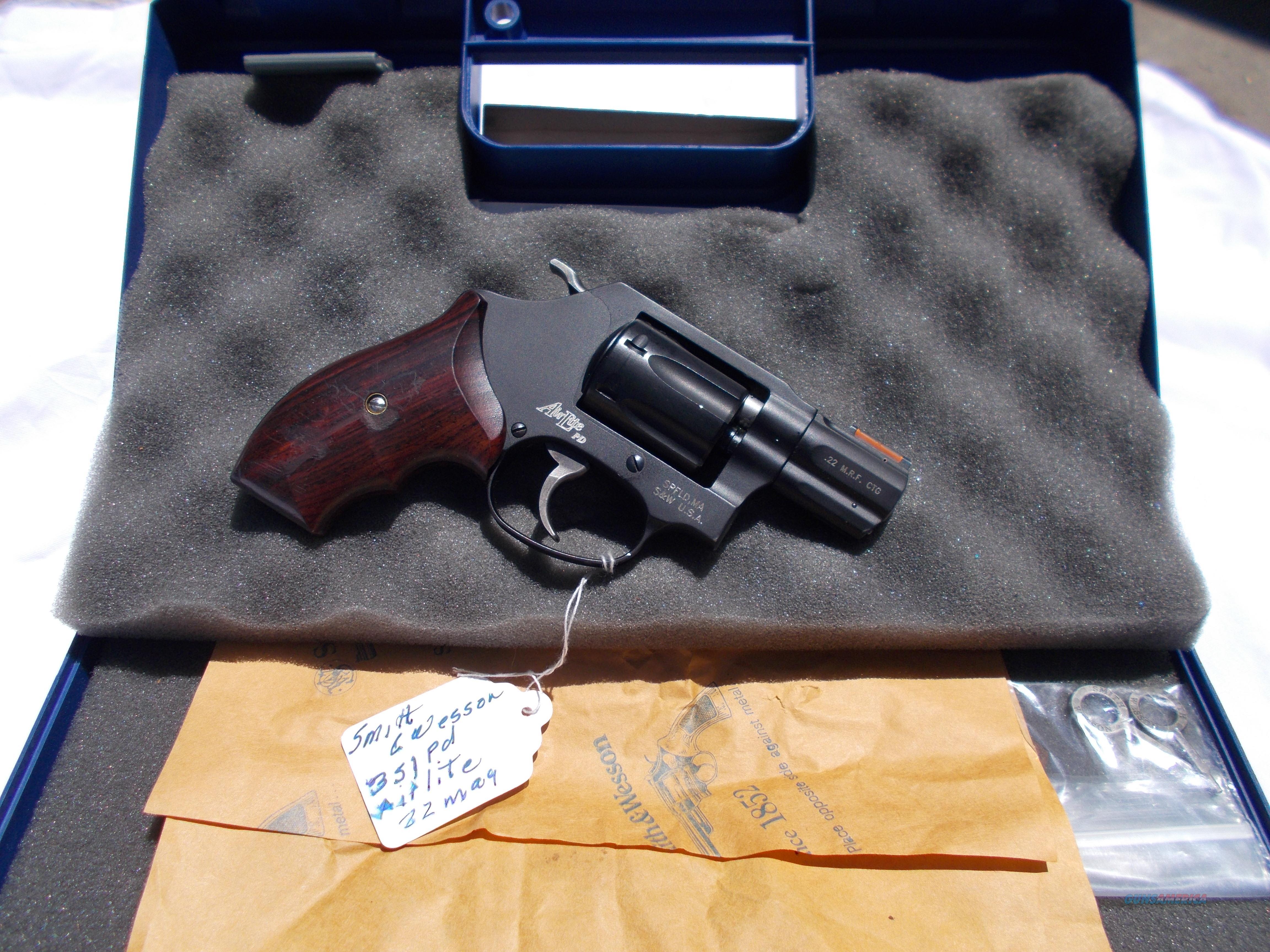 S&W mod.351pd 22mag as NIB  Guns > Pistols > Smith & Wesson Revolvers > Small Frame ( J )