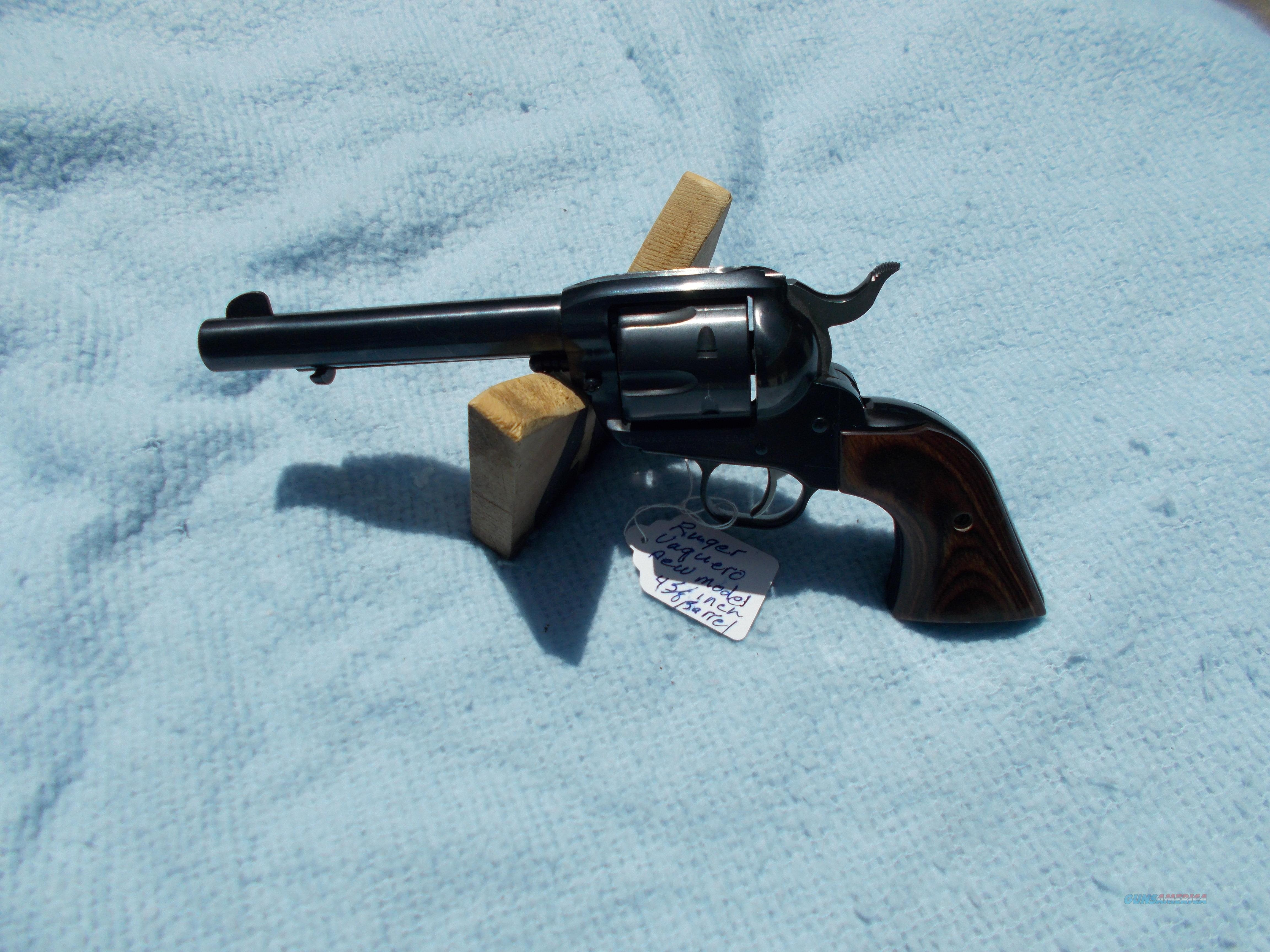 ruger new vaquero 357 magnum  Guns > Pistols > Ruger Single Action Revolvers > Blackhawk Type
