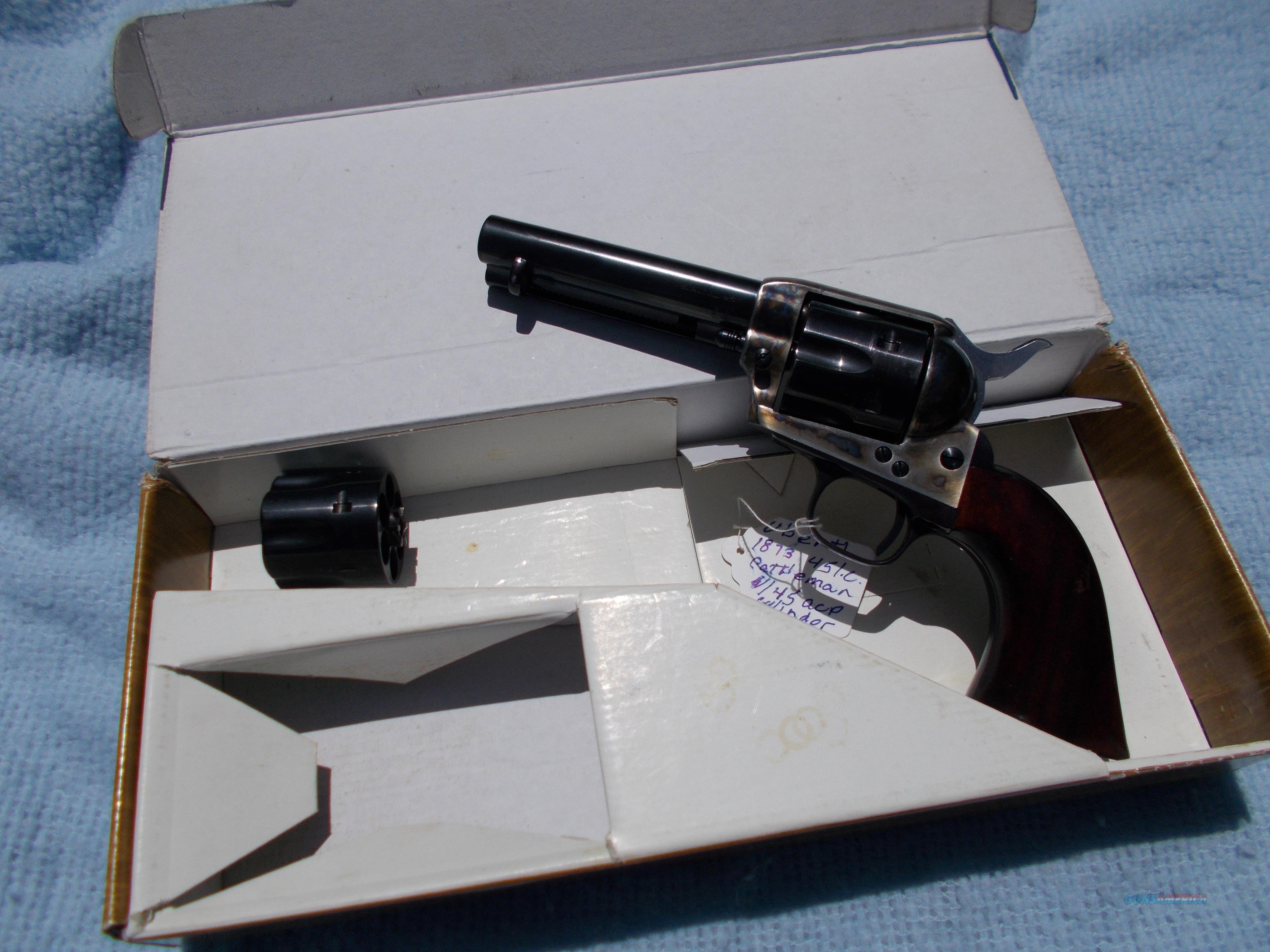 uberti cattleman 1873 45colt  Guns > Pistols > Uberti Pistols > Ctg.