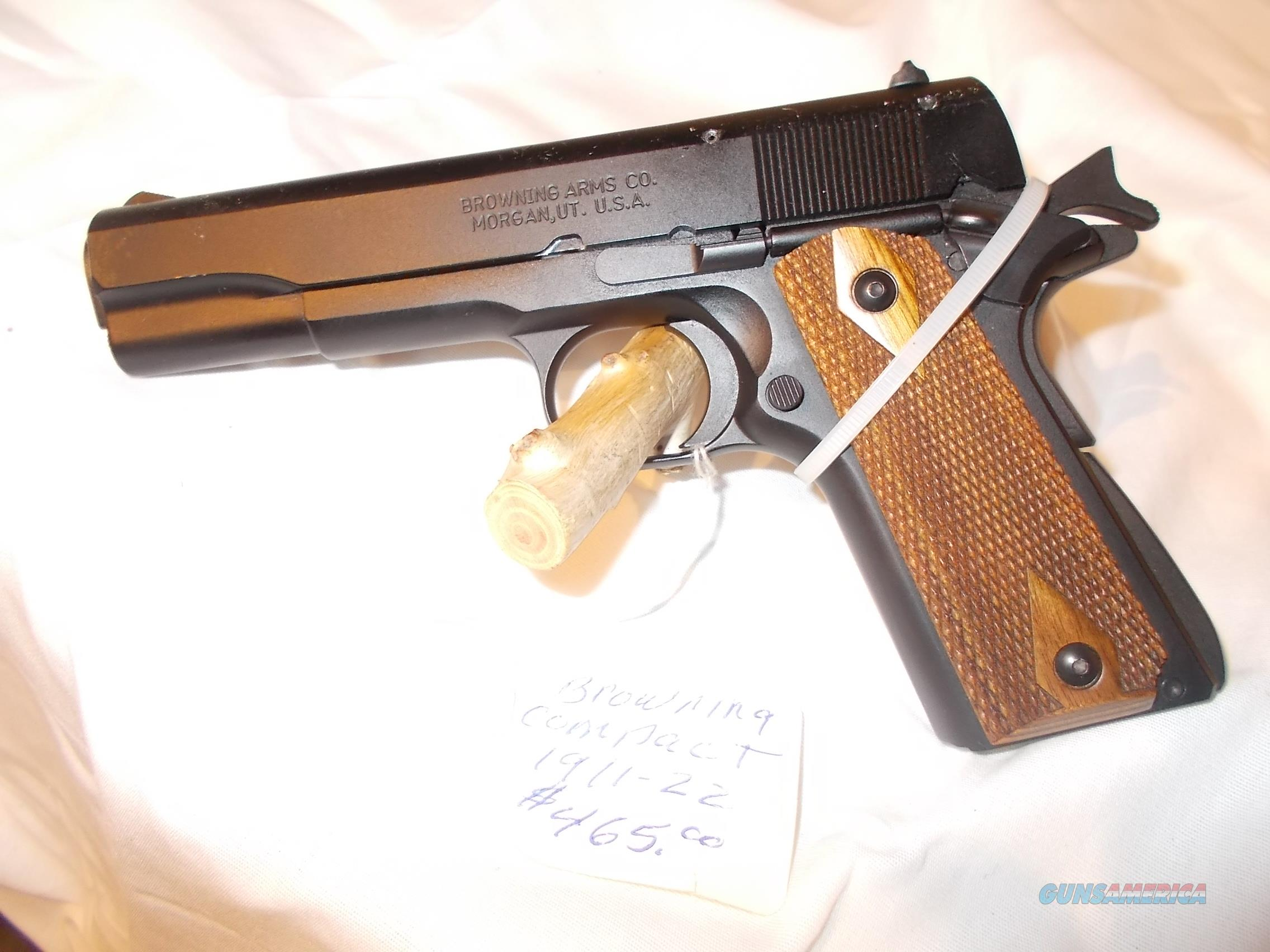 browning 1911- compact  Guns > Pistols > Browning Pistols > Other Autos
