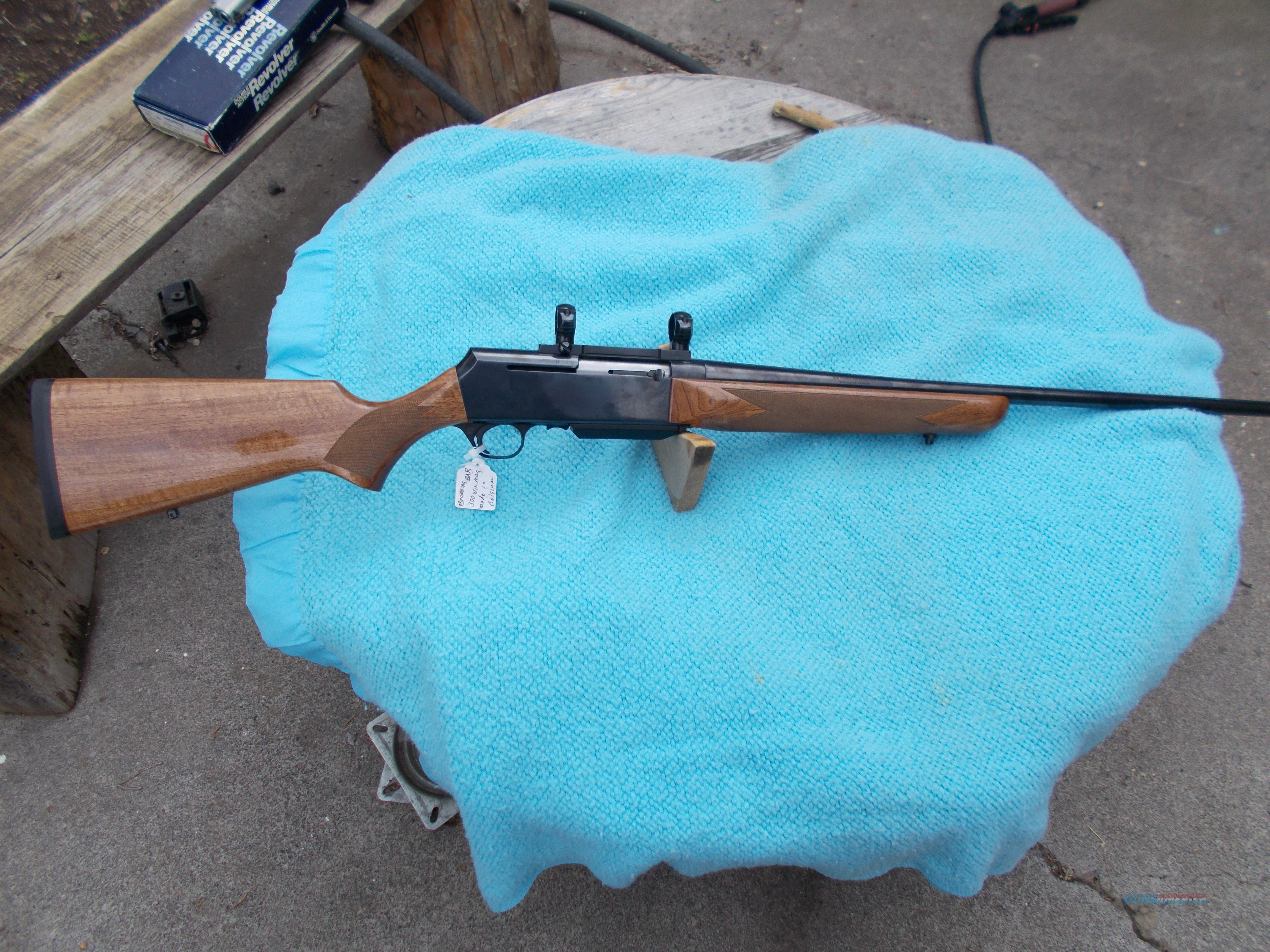 browning BAR 300 winmag  Guns > Rifles > Browning Rifles > Semi Auto > Tactical