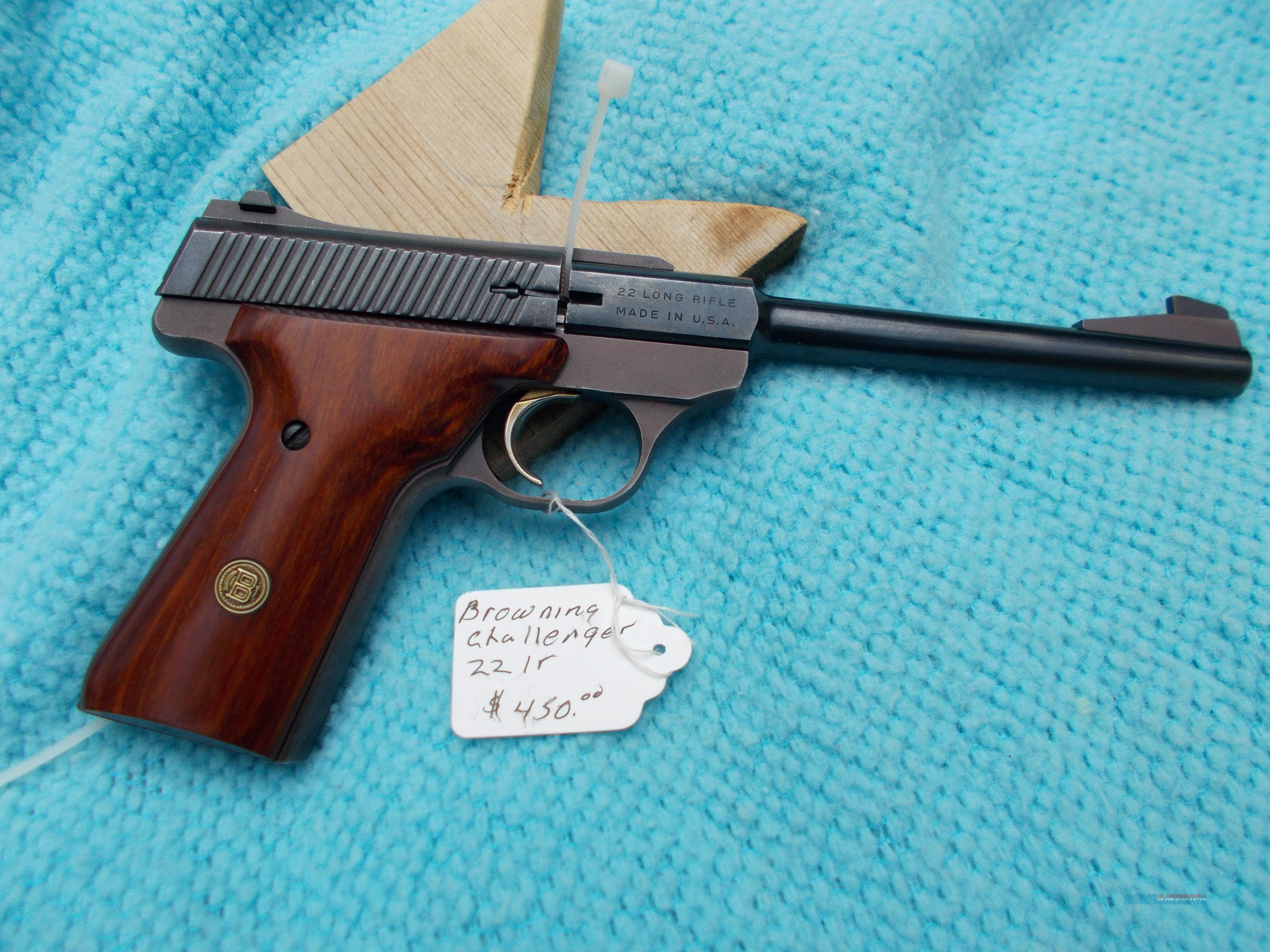 browning challenger 22lr  Guns > Pistols > Browning Pistols > Other Autos