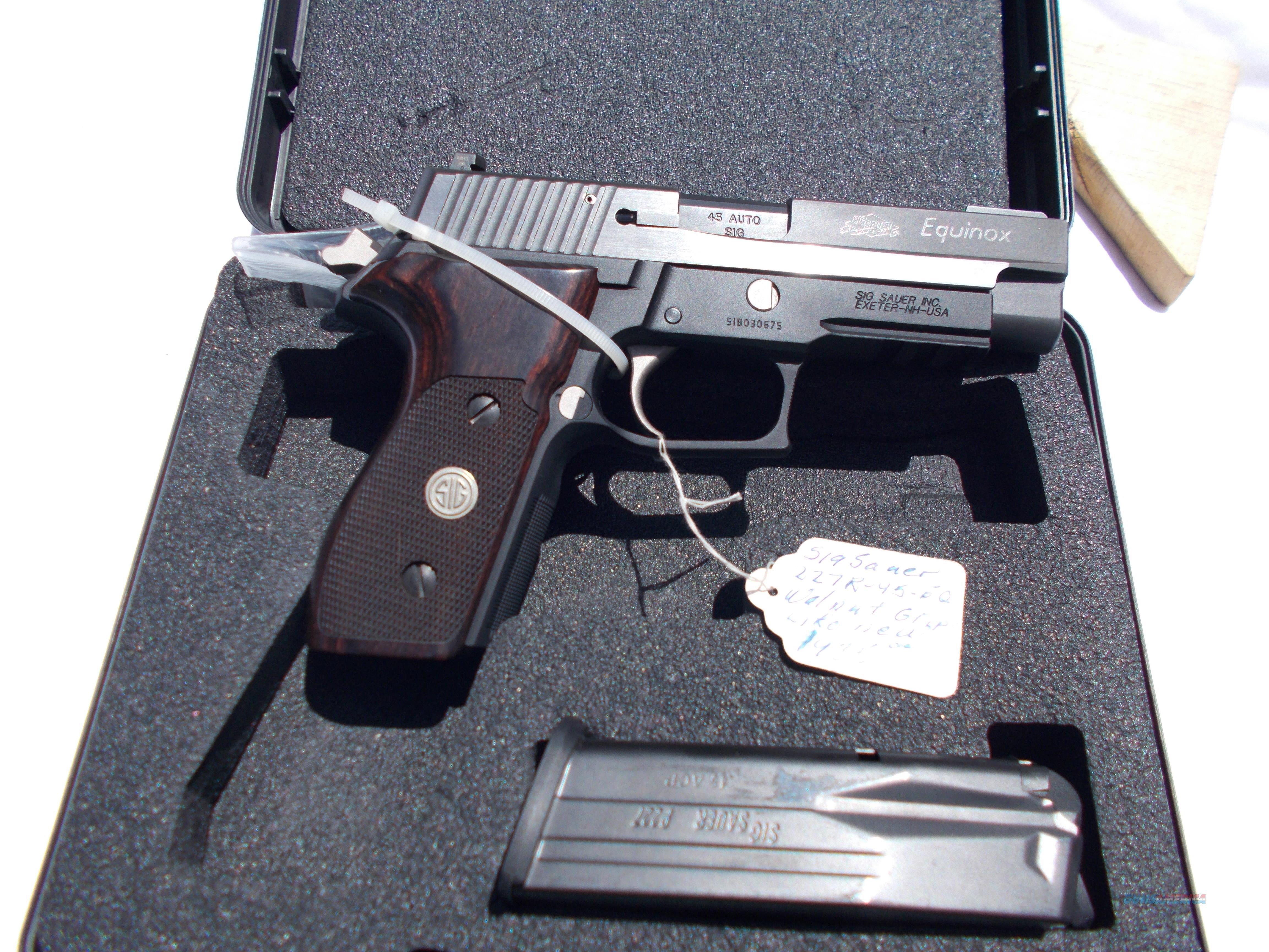 sig sauer p227 equinox 45acp  Guns > Pistols