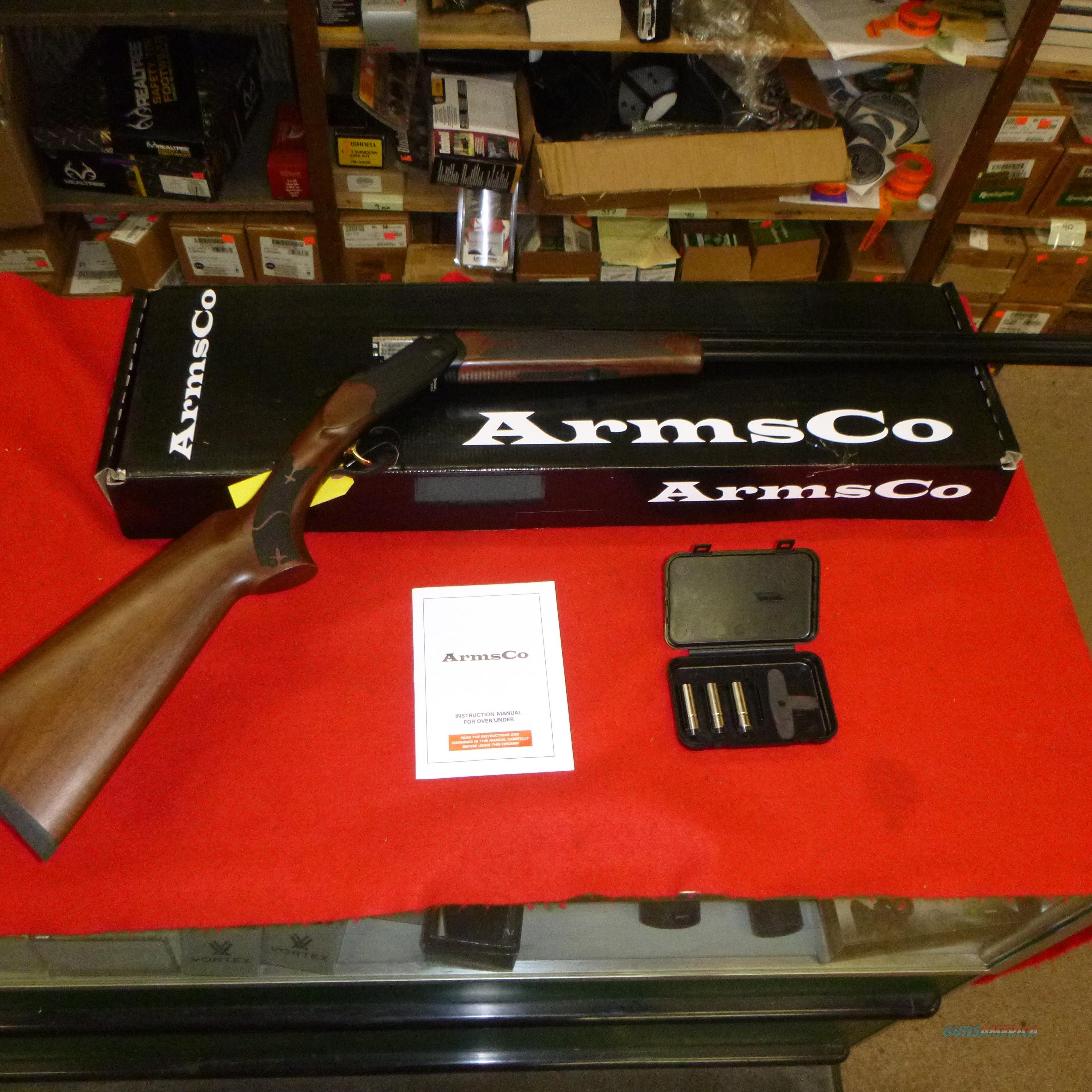 New Armsco.410 o/u black finish  Guns > Shotguns > UTAS Shotguns