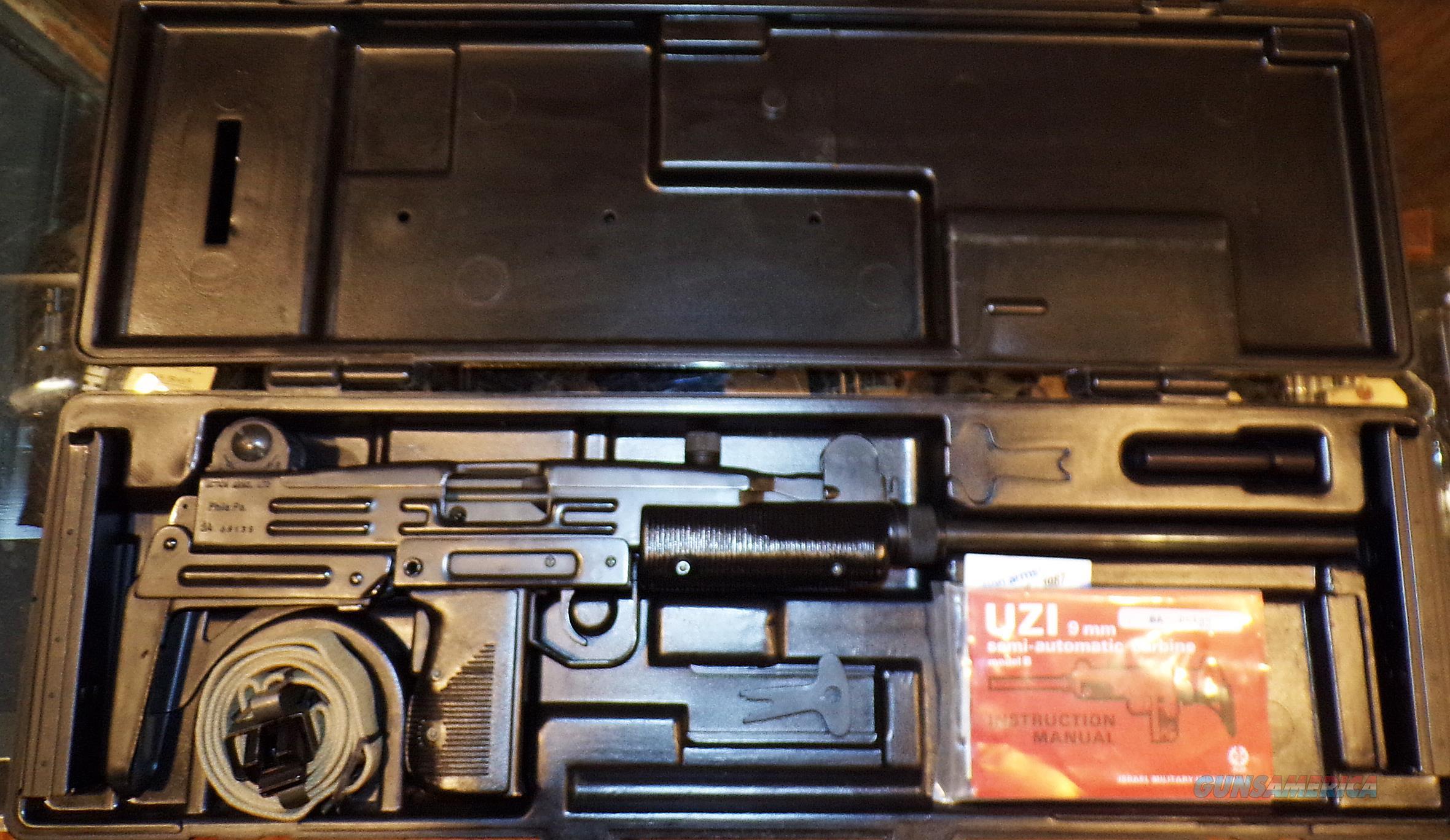 IMI UZI MODEL B  Guns > Rifles > IMI Rifles