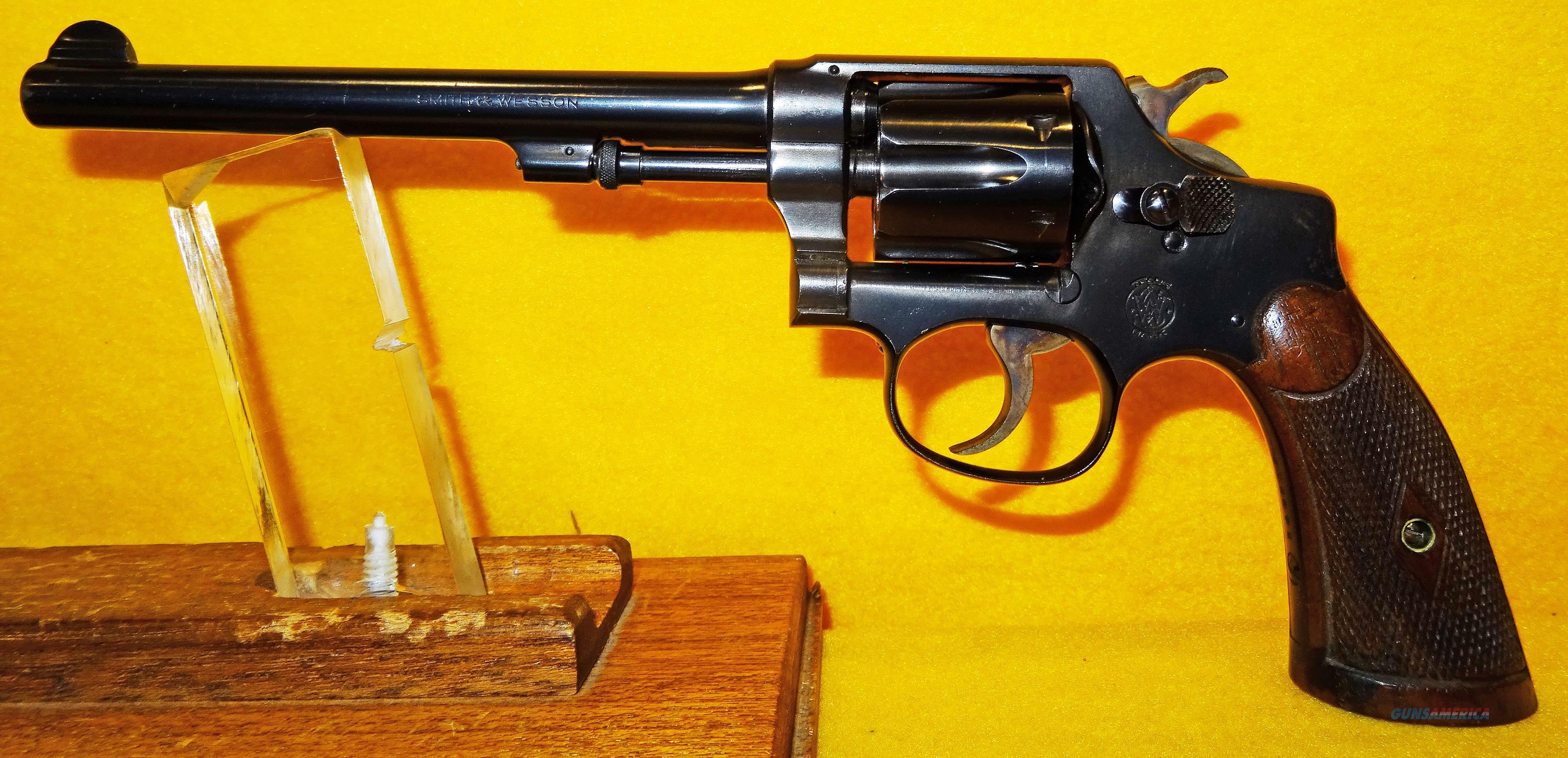 S&W .32 REGULATION POLICE PRE WAR  Guns > Pistols > Smith & Wesson Revolvers > Pre-1945