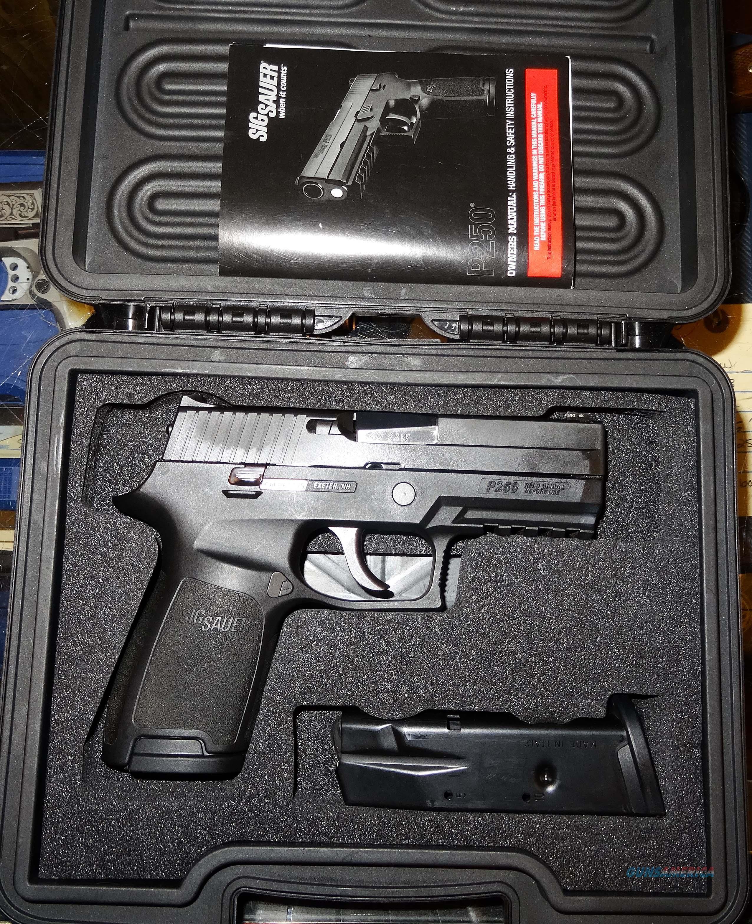 SIG SAUER P250  Guns > Pistols > Sig - Sauer/Sigarms Pistols > P250