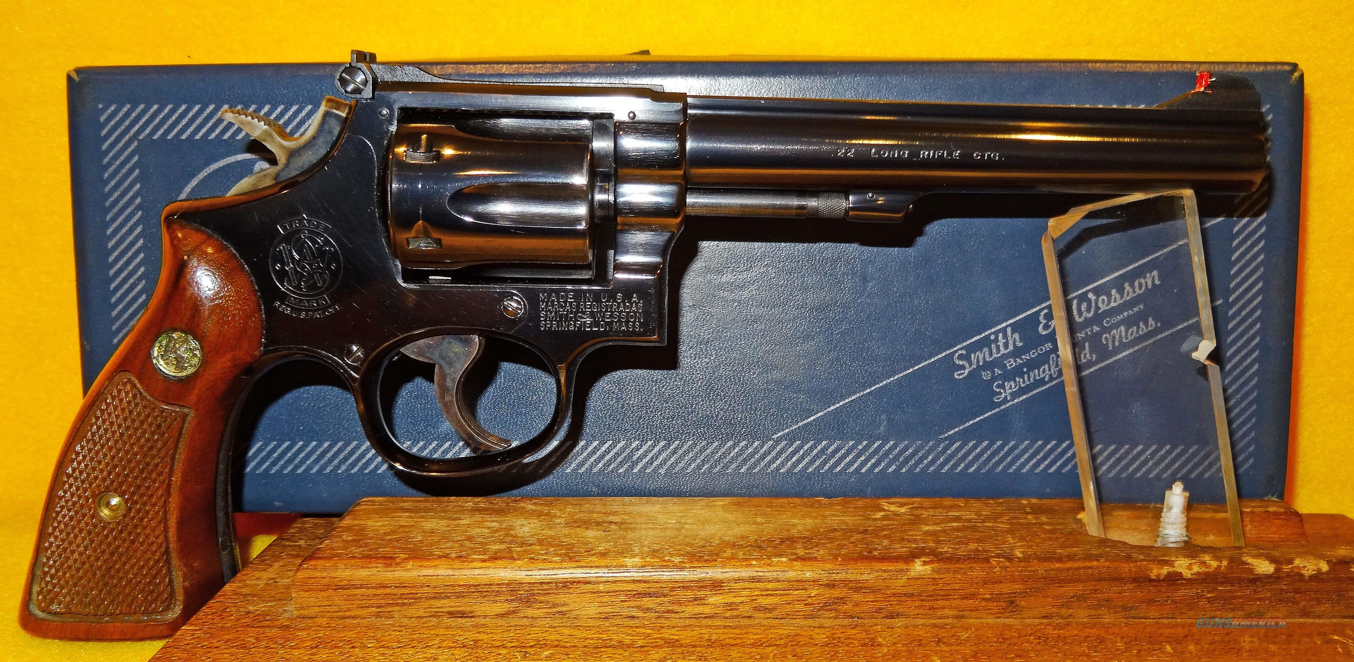 S&W 17-3  Guns > Pistols > Smith & Wesson Revolvers > Med. Frame ( K/L )