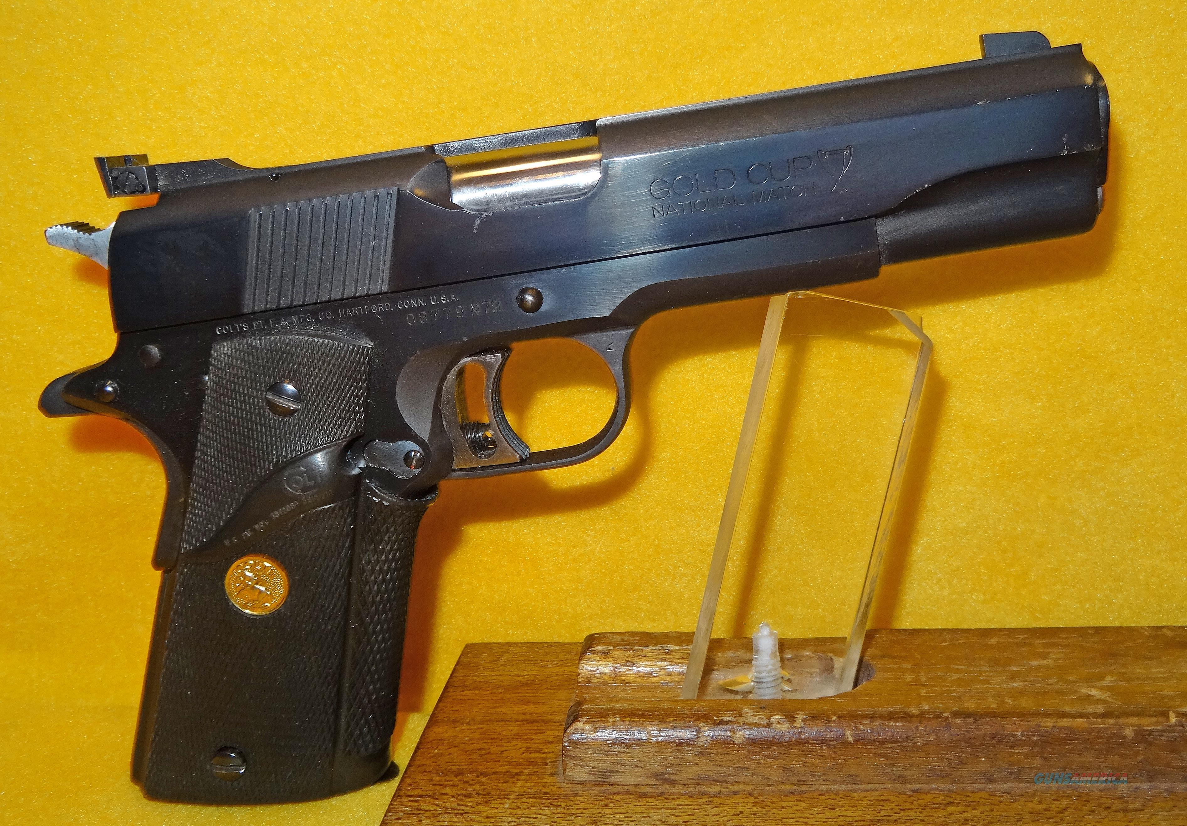 COLT (70 SERIES) 1911 GOLD CUP  Guns > Pistols > Colt Automatic Pistols (1911 & Var)