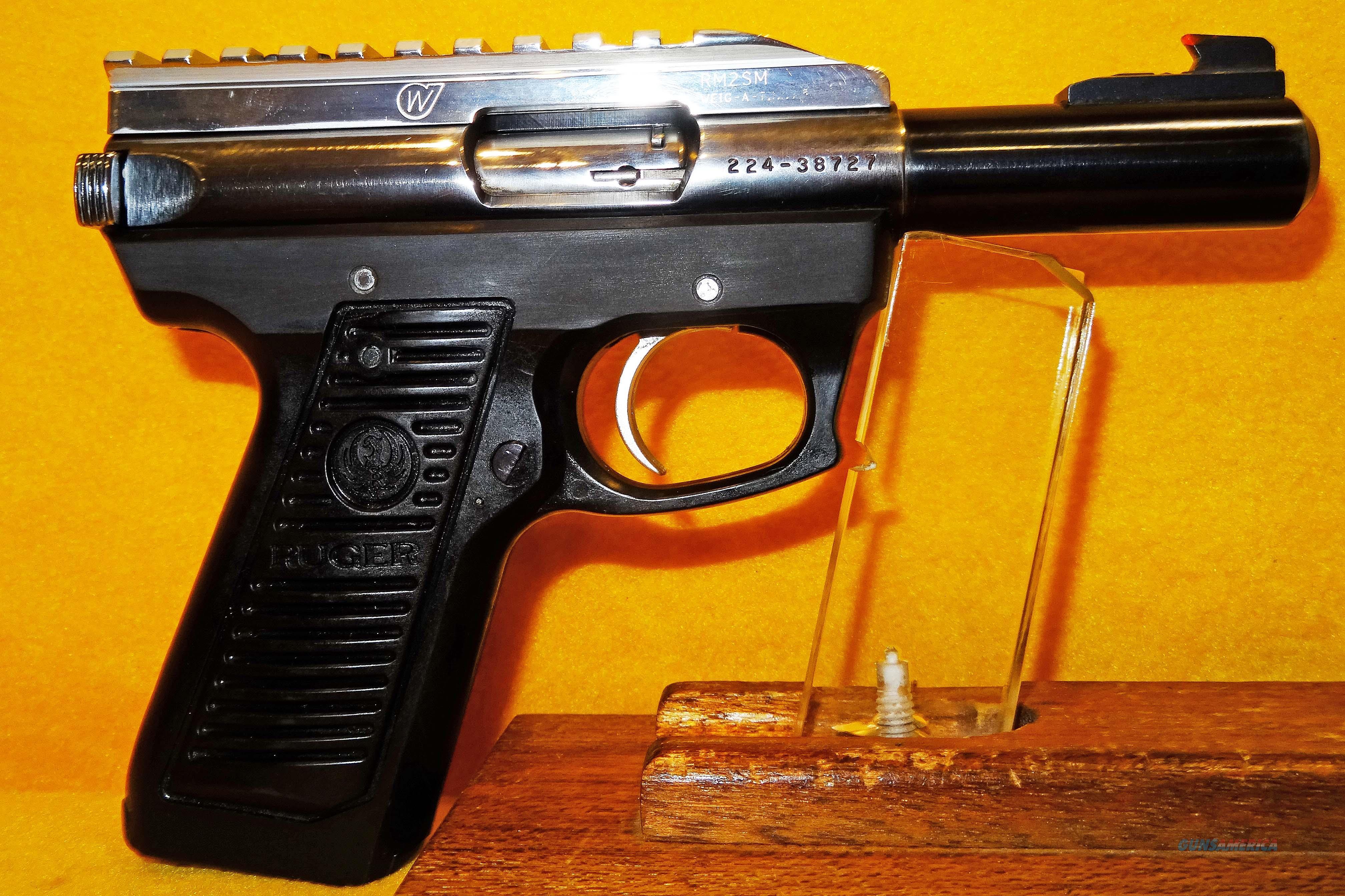 RUGER 22/45  Guns > Pistols > Ruger Semi-Auto Pistols > Mark I/II/III/IV Family