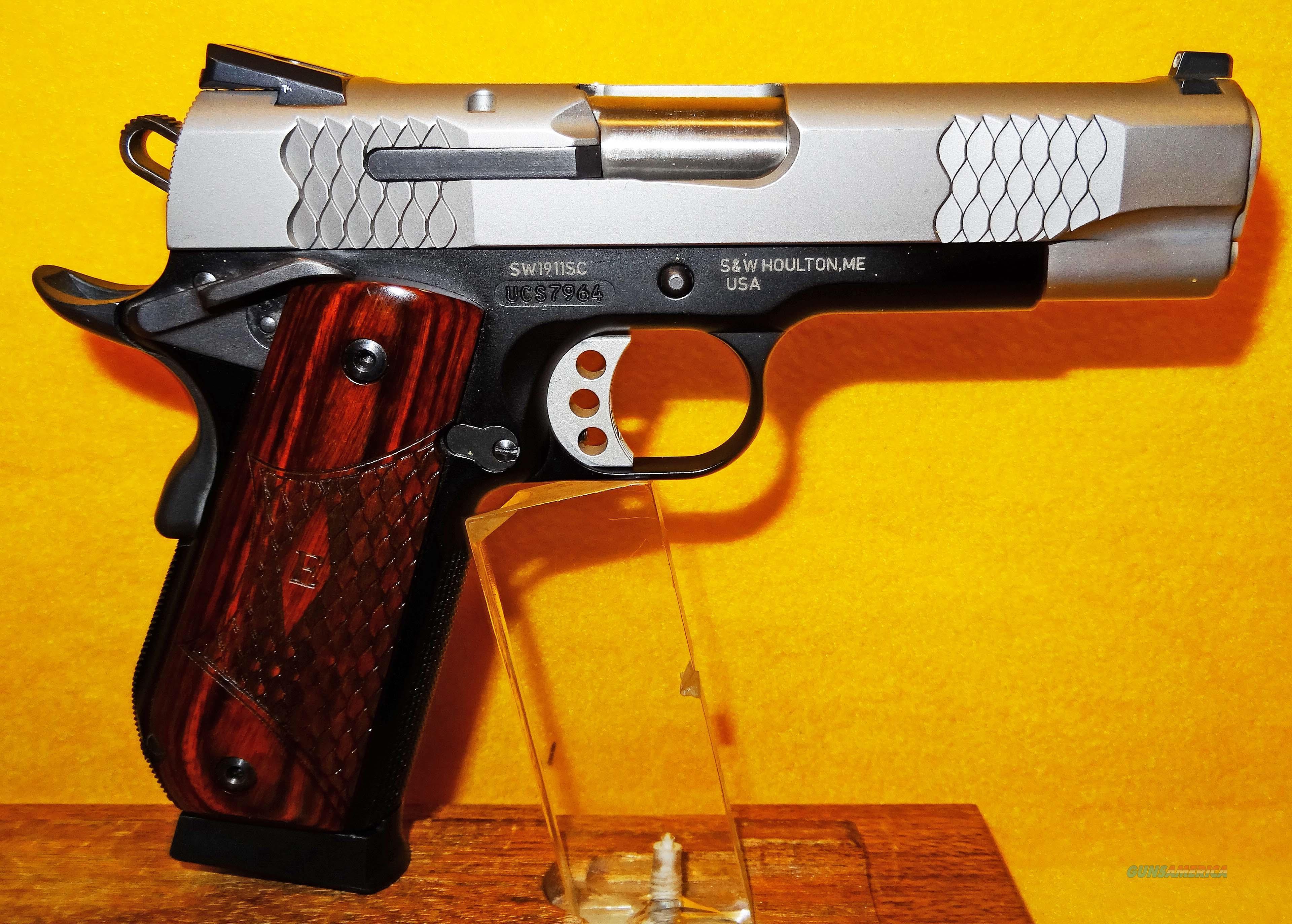 S&W 1911SC E-SERIES  Guns > Pistols > Smith & Wesson Pistols - Autos > Alloy Frame