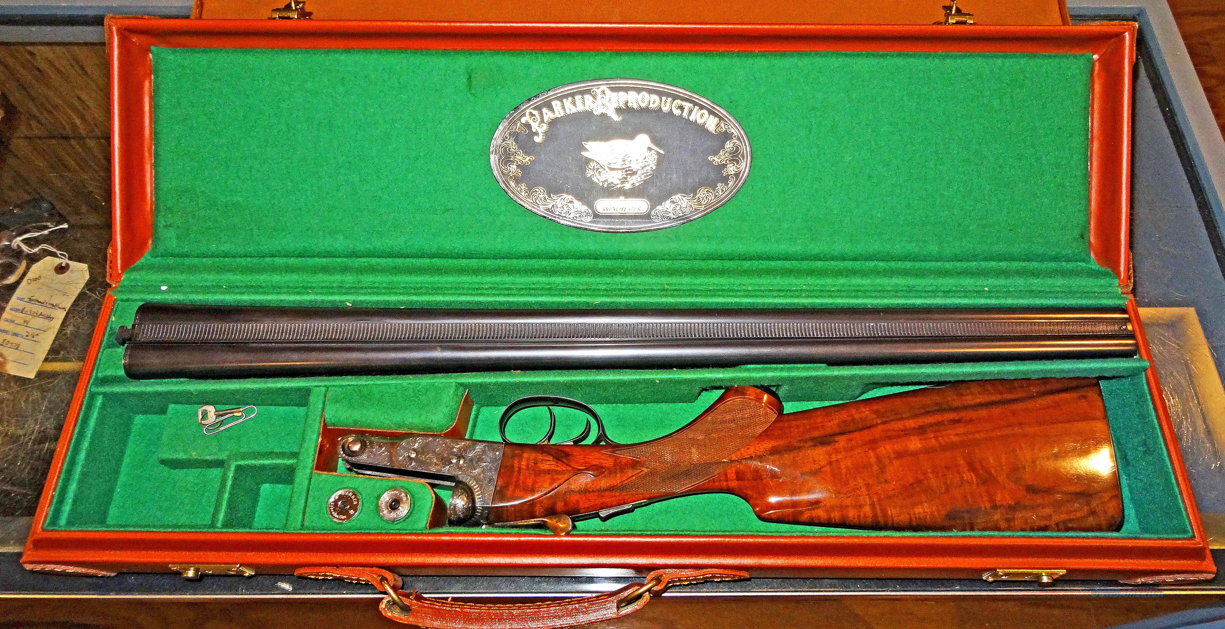 WINCHESTER (LIKE NEW) PARKER REPRODUCTION (SXS)  Guns > Shotguns > Winchester Replica Shotgun Misc.
