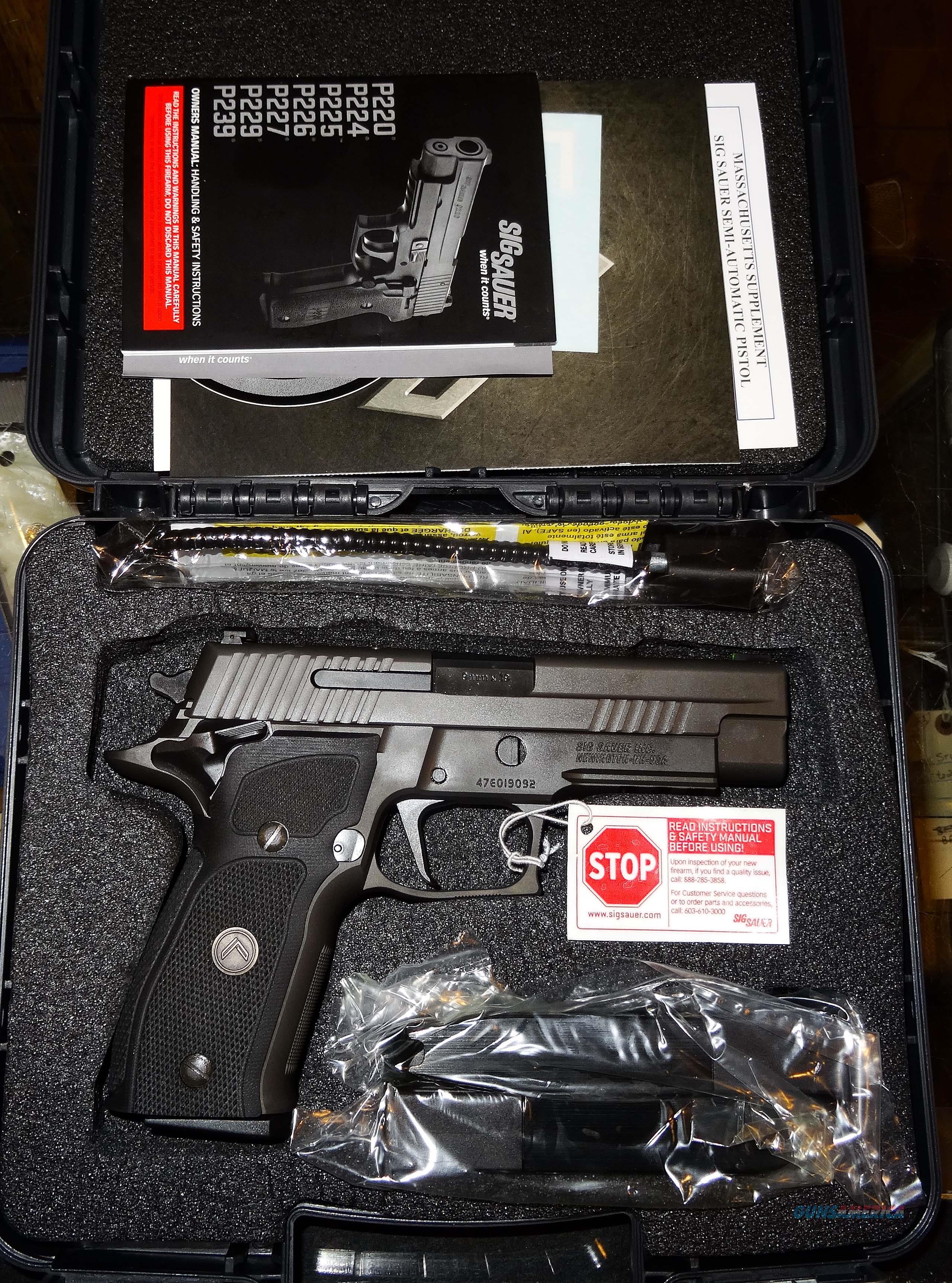 SIG SAUER P226 LEGION  Guns > Pistols > Sig - Sauer/Sigarms Pistols > P227