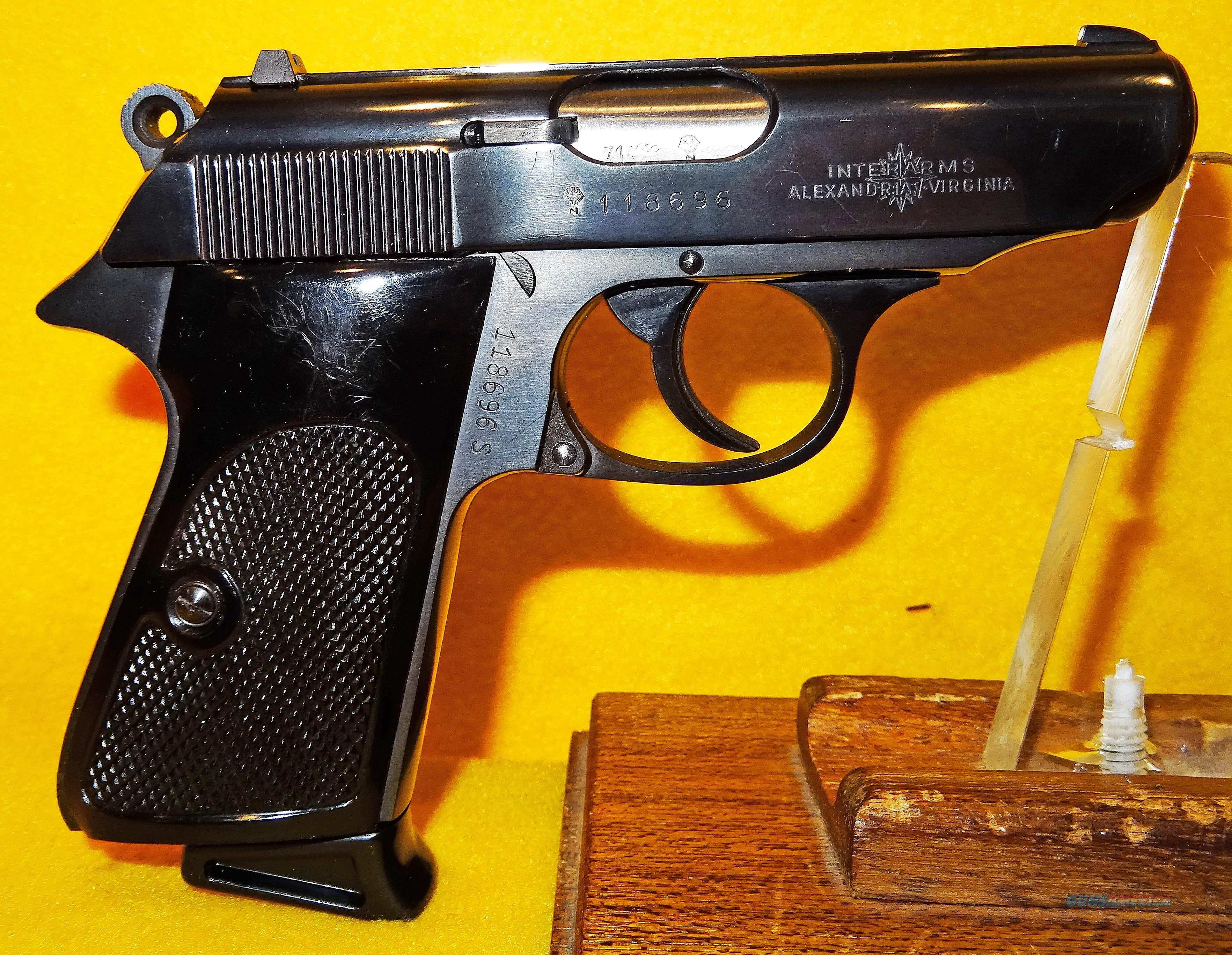 WALTHER PPK/S (WEST GERMAN MADE)  Guns > Pistols > Walther Pistols > Post WWII > PPK Series