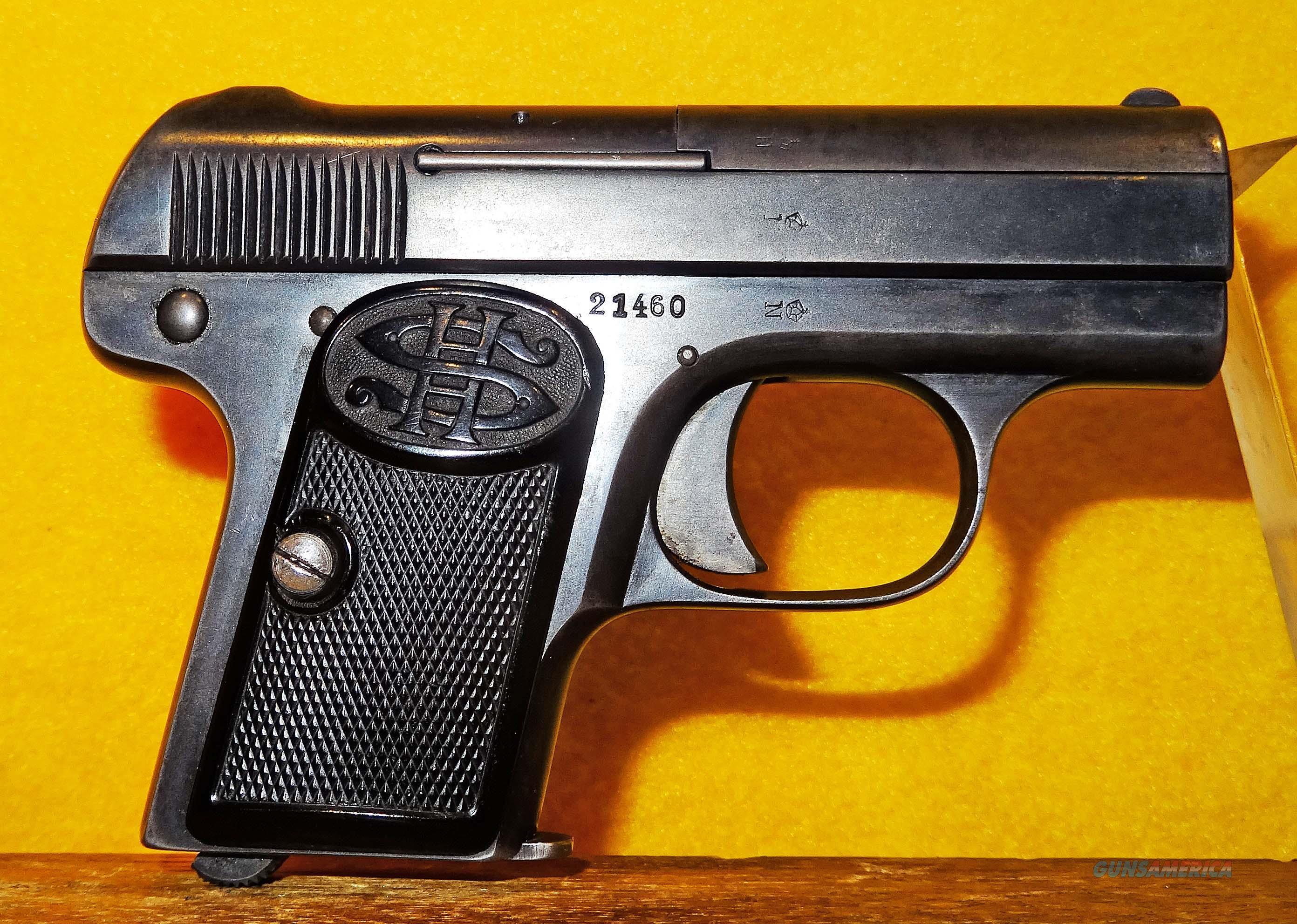 C.G.HAENEL SUHL MODEL 1  Guns > Pistols > S Misc Pistols