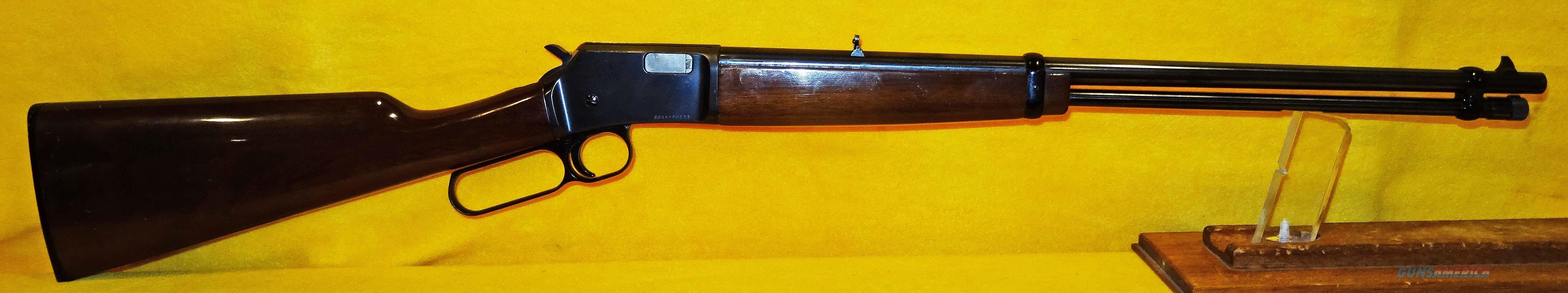 BROWNING BL-22  Guns > Rifles > Browning Rifles > Lever Action