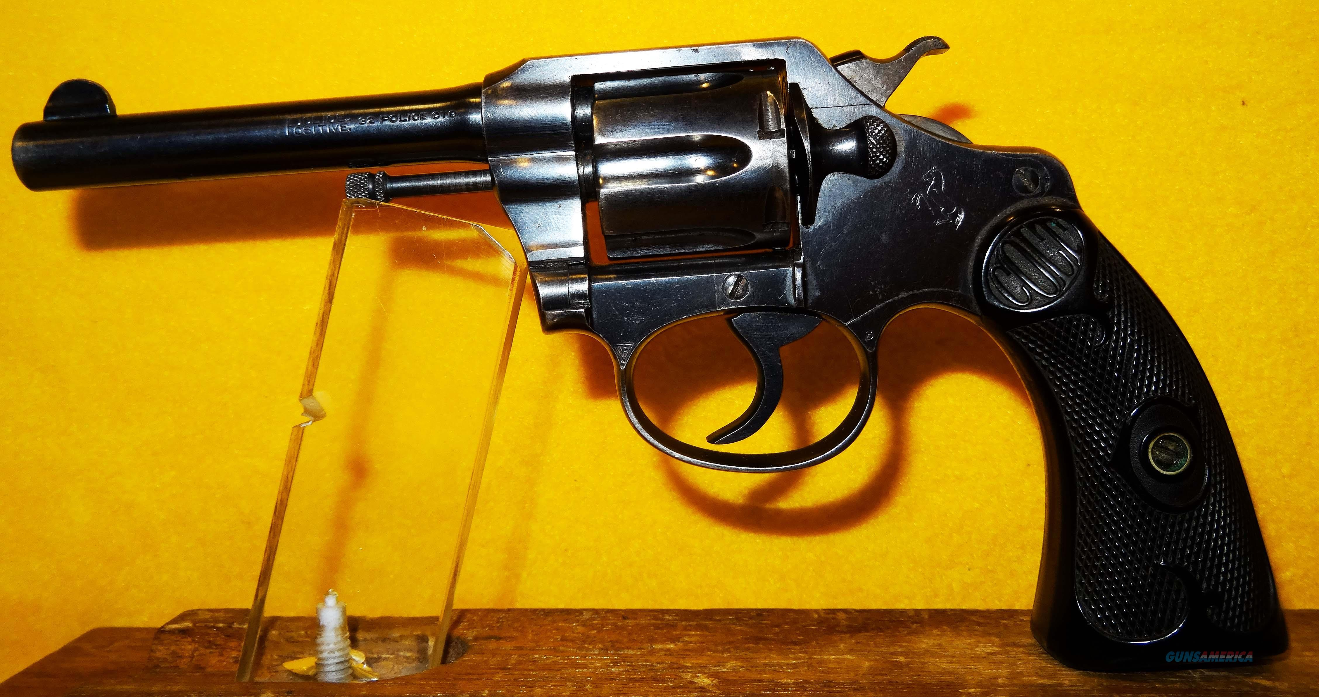COLT POLICE POSITIVE  Guns > Pistols > Colt Double Action Revolvers- Modern