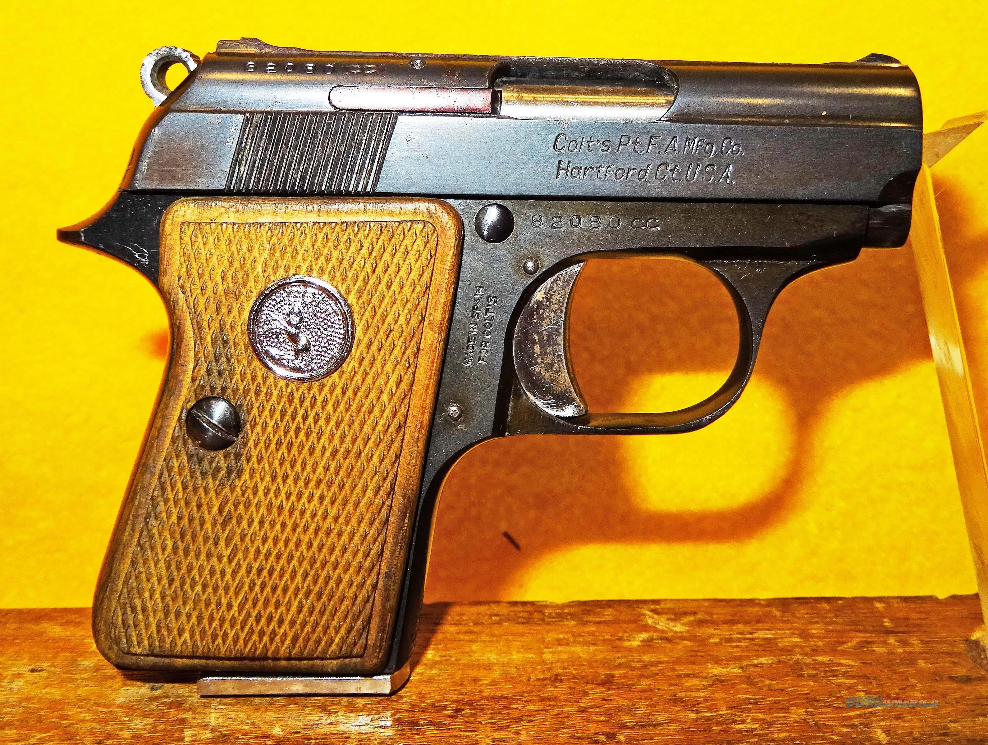 COLT JUNIOR  Guns > Pistols > Colt Automatic Pistols (.25, .32, & .380 cal)