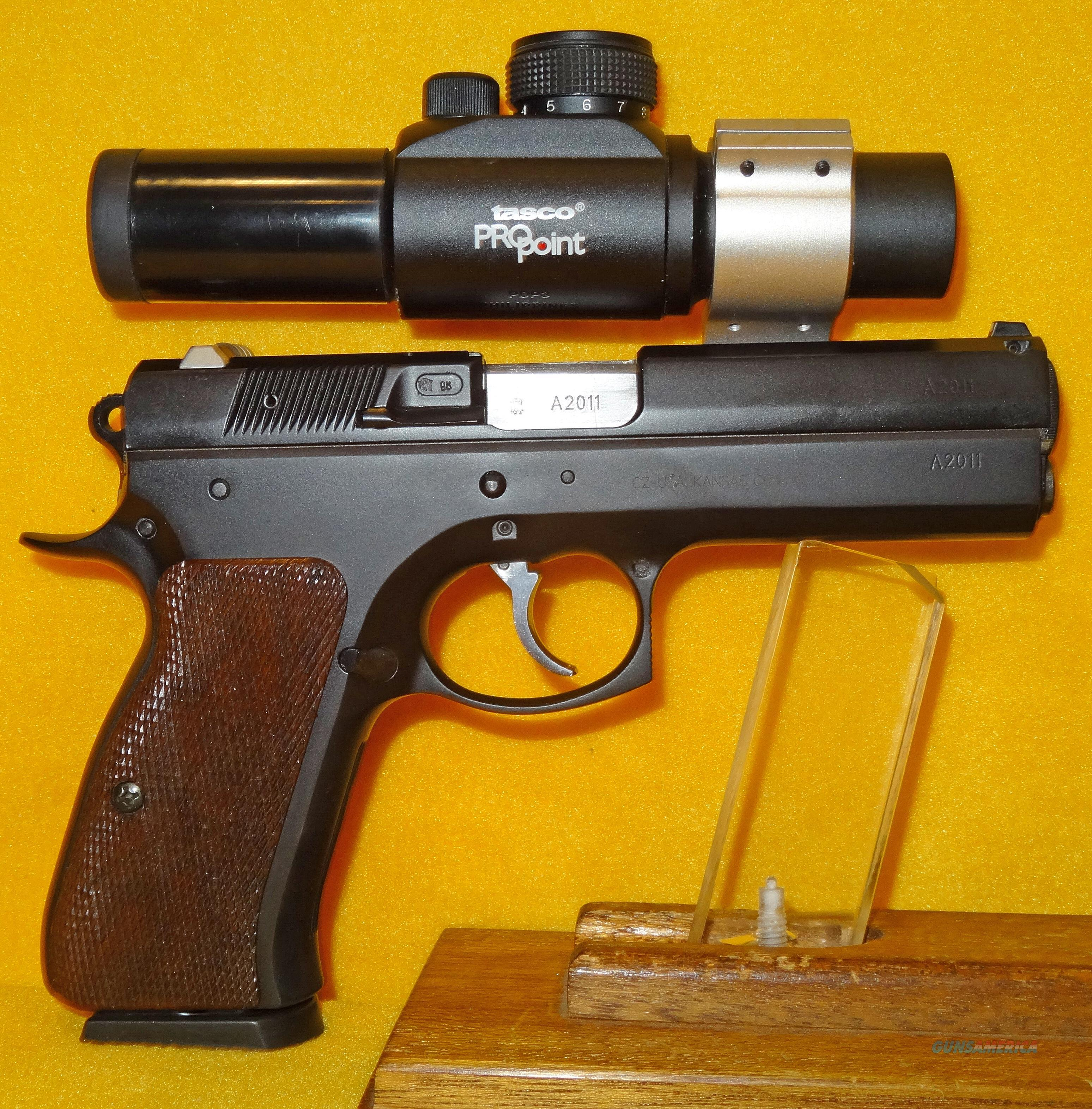 CZ 97B (RACE GUN)  Guns > Pistols > CZ Pistols