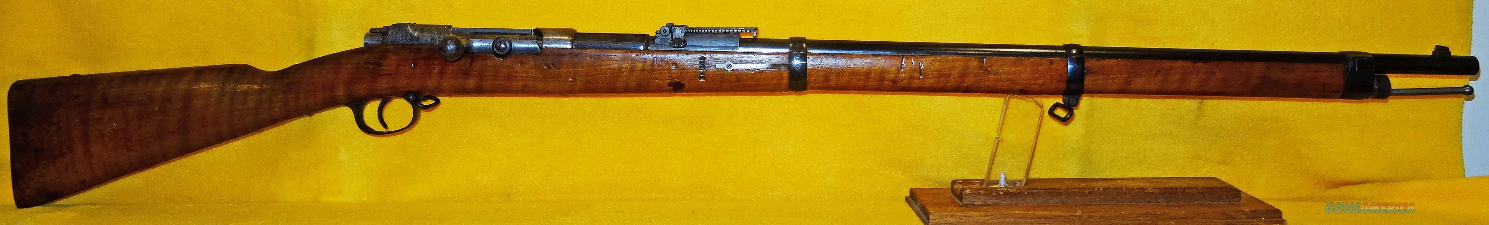 SPANDAU (1887) 71/84  Guns > Rifles > Military Misc. Rifles Non-US > Other
