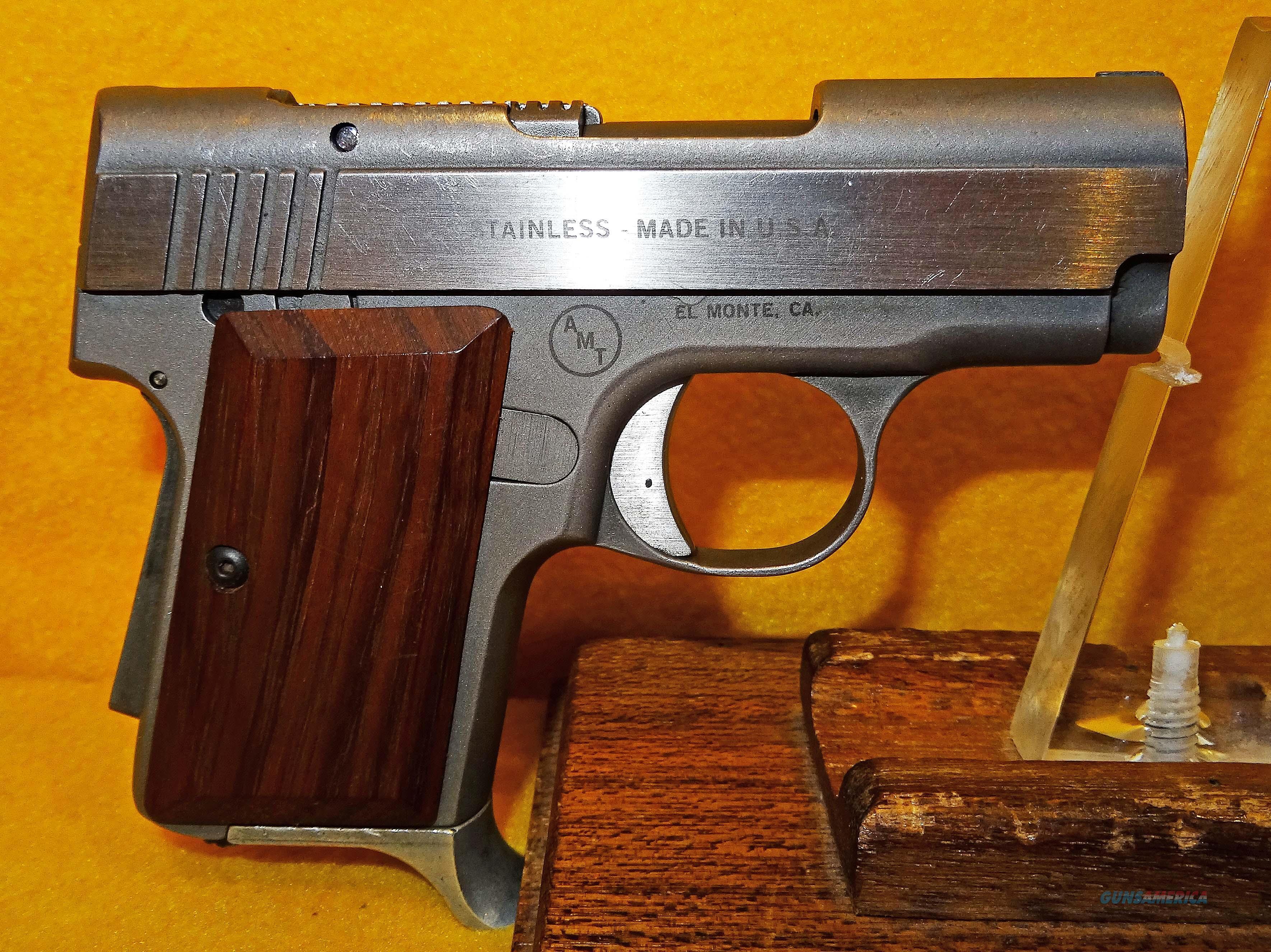 AMT  BACKUP  Guns > Pistols > AMT Pistols > Double Action
