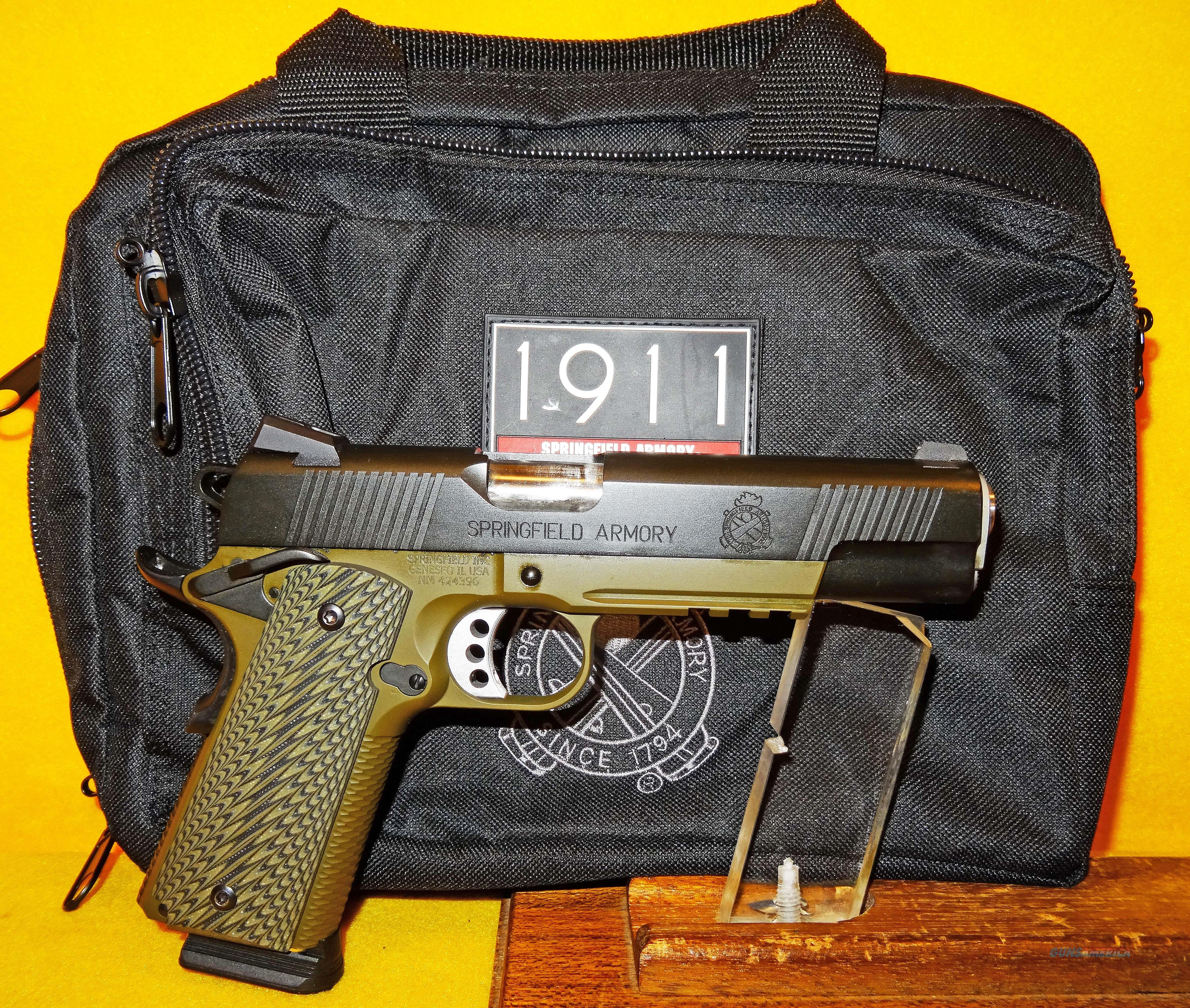 SPRINGFIELD ARMORY 1911 LOADED OPERATOR  Guns > Pistols > Springfield Armory Pistols > 1911 Type