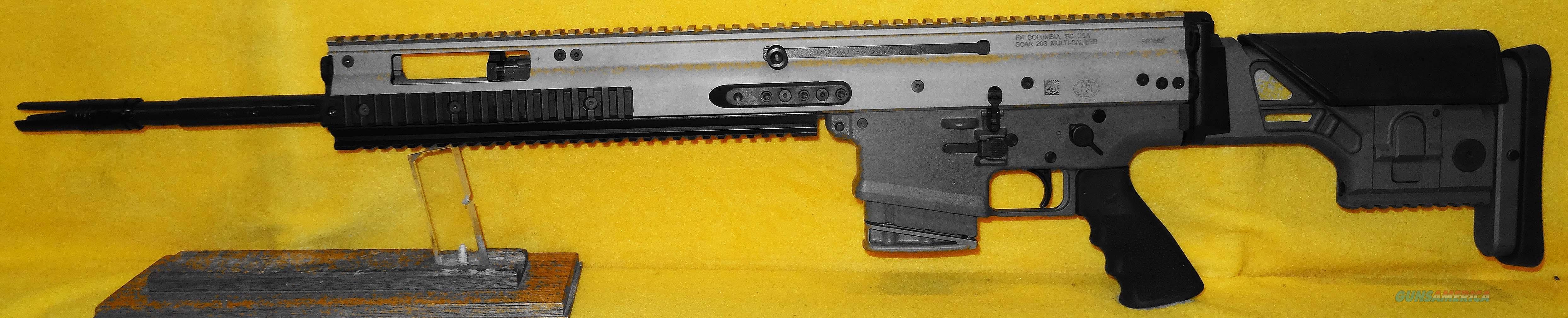 FN SCAR 20S  Guns > Rifles > FNH - Fabrique Nationale (FN) Rifles > Semi-auto > SCAR