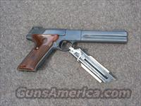 "Colt Woodsman Match Target 6"", 2nd.series  Guns > Pistols > Colt Automatic Pistols (22 Cal.)"
