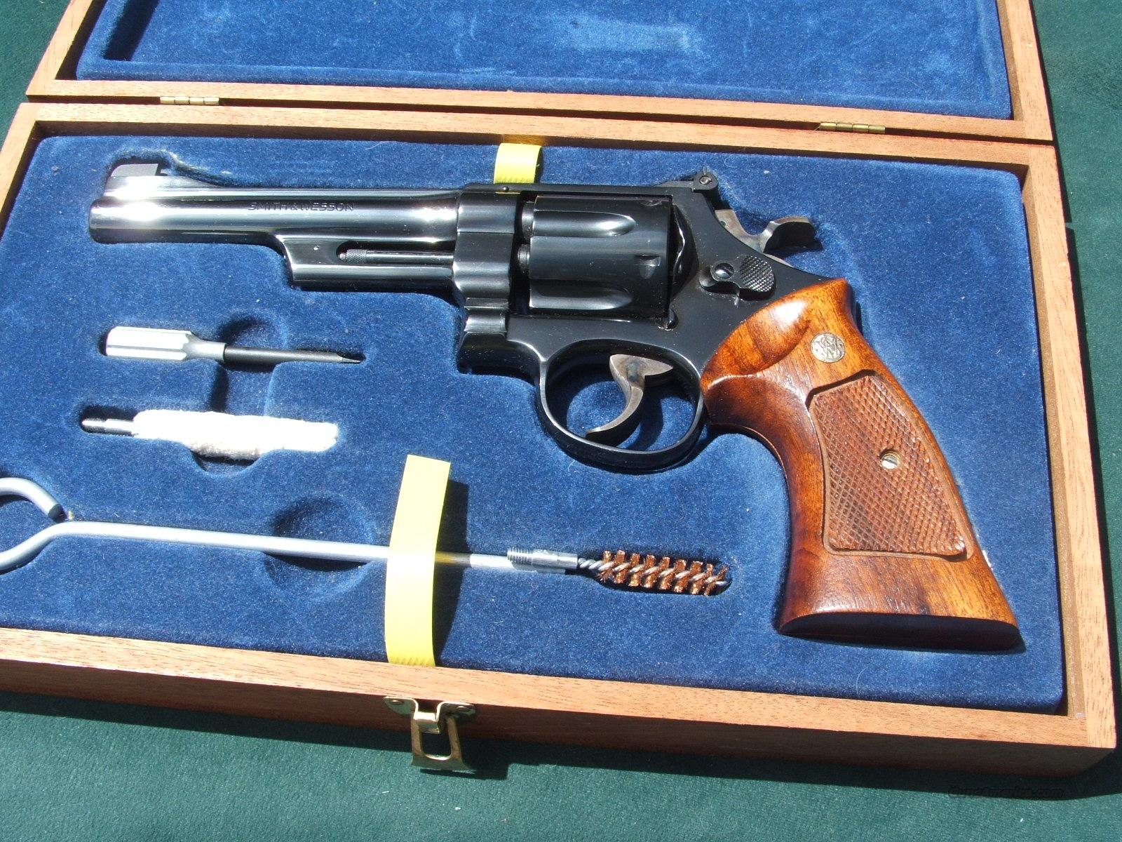 S&Wmodel27-2woodcase  Guns > Pistols > Smith & Wesson Revolvers > Full Frame Revolver