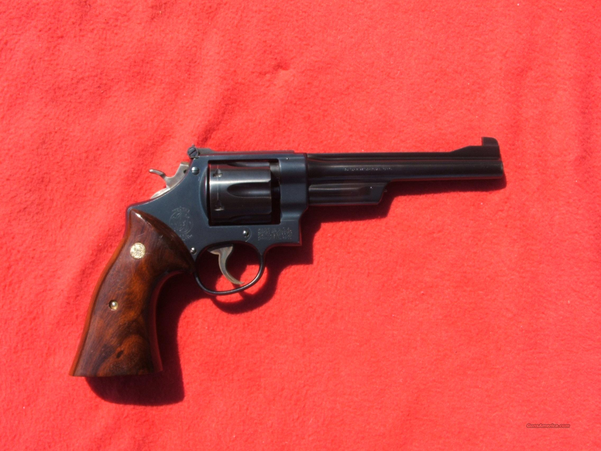 Smith&Wesson 38-44OutdoorsmanModel of 1950  Guns > Pistols > Smith & Wesson Revolvers > Full Frame Revolver