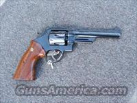 S&W Model 27, 357mag. 4 screw  Guns > Pistols > Smith & Wesson Revolvers > Full Frame Revolver