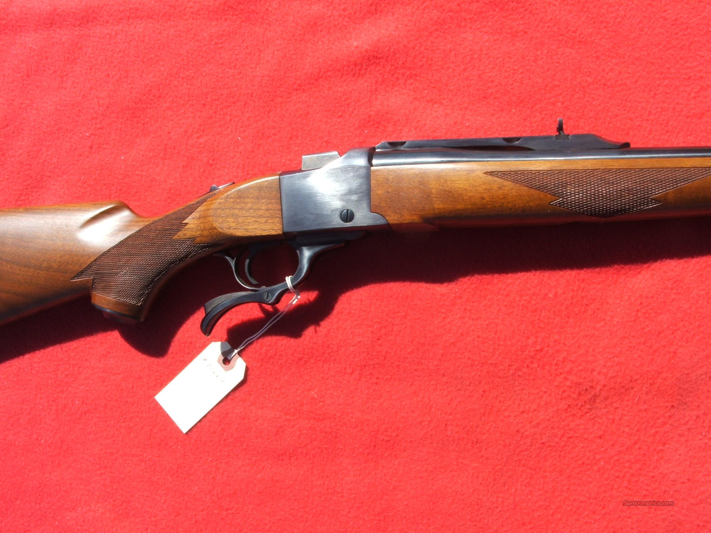 Ruger No.1 S, 45-70cal.   Guns > Rifles > Ruger Rifles > #1 Type