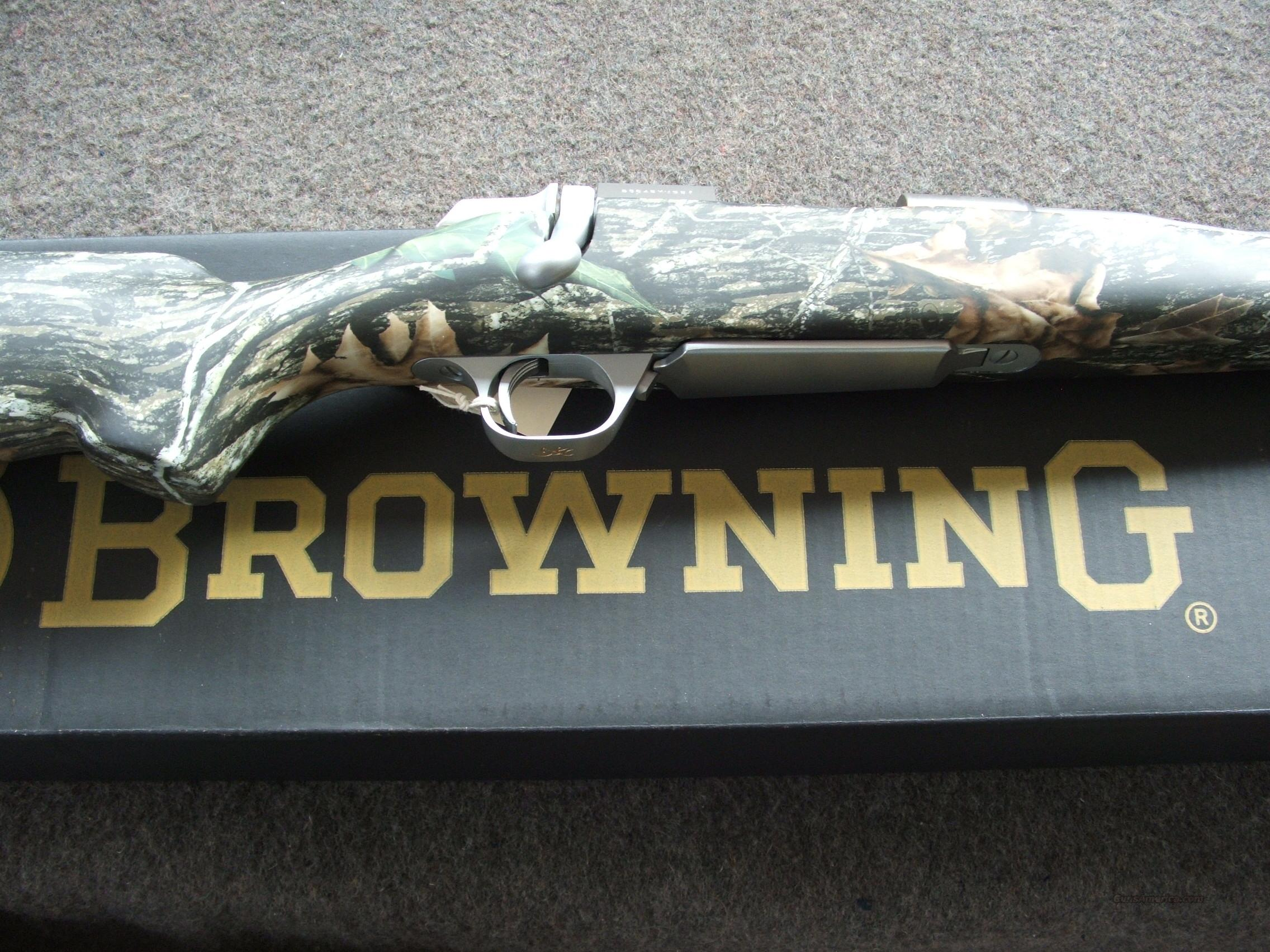 Browning A-Bolt 300 WSM Titanium  Guns > Rifles > Browning Rifles > Bolt Action > Hunting > Stainless