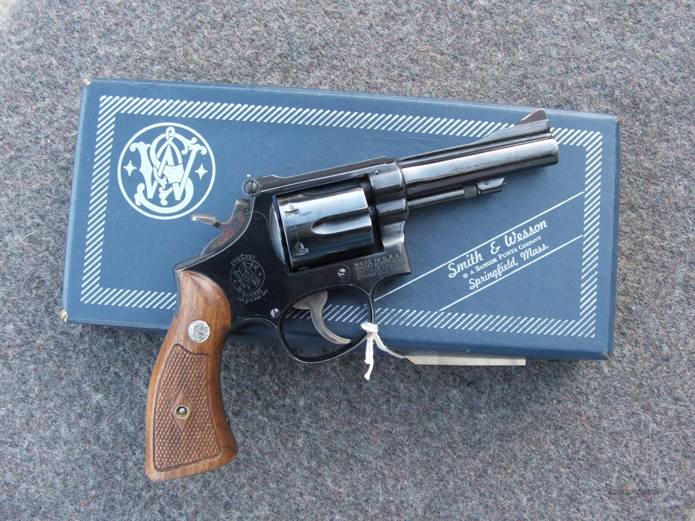 S&W M15, 38spl. 4 screw  Guns > Pistols > Smith & Wesson Revolvers > Full Frame Revolver