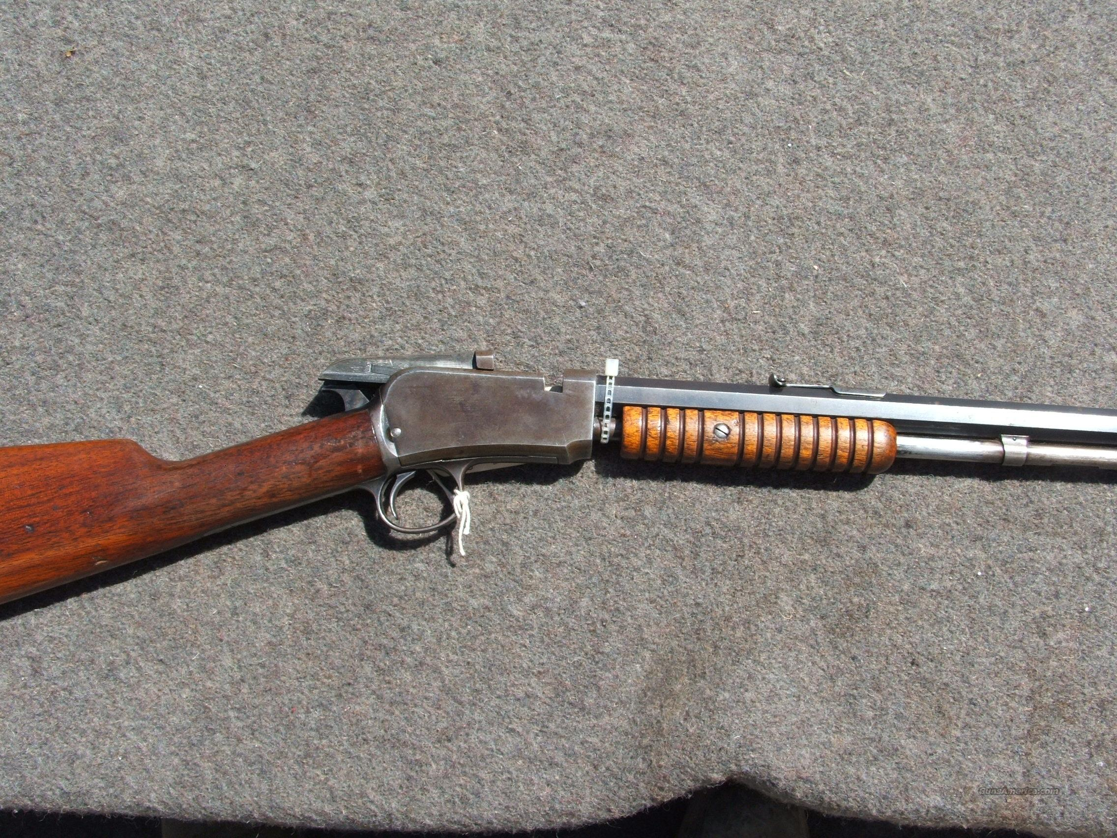 Winchester Model  1890, 22 short  Guns > Rifles > Winchester Rifles - Modern Pump
