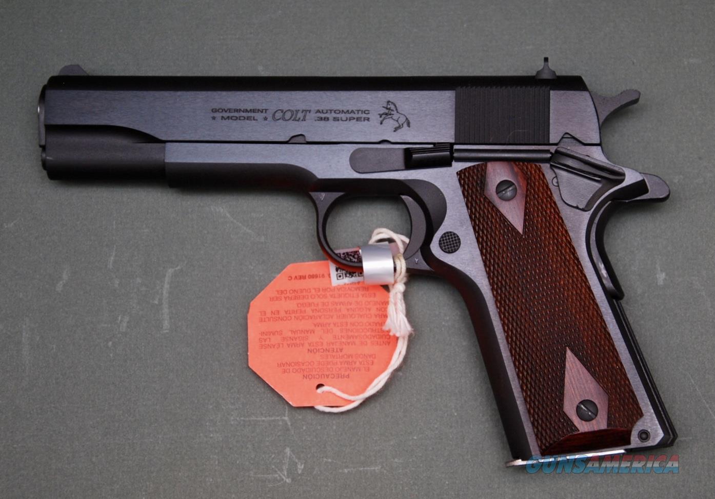 Colt 1911 Classic .38 Super NIB  Guns > Pistols > Colt Automatic Pistols (1911 & Var)
