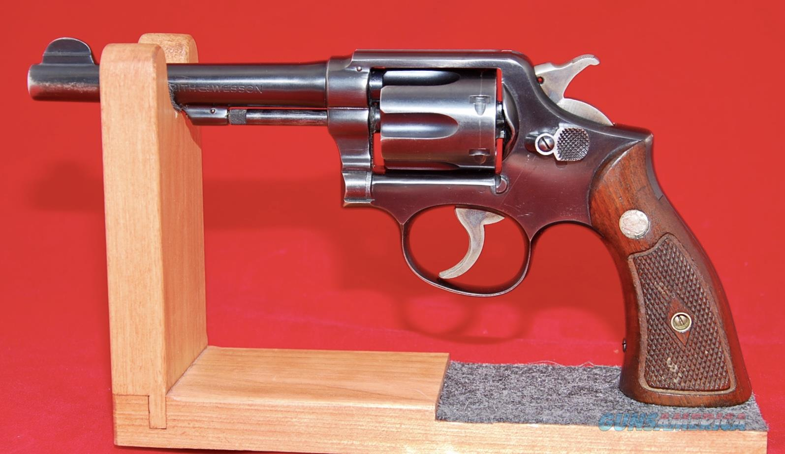 Smith & Wesson Pre Model 10 Military and Police 5 inch Barrel  Guns > Pistols > Smith & Wesson Revolvers > Med. Frame ( K/L )