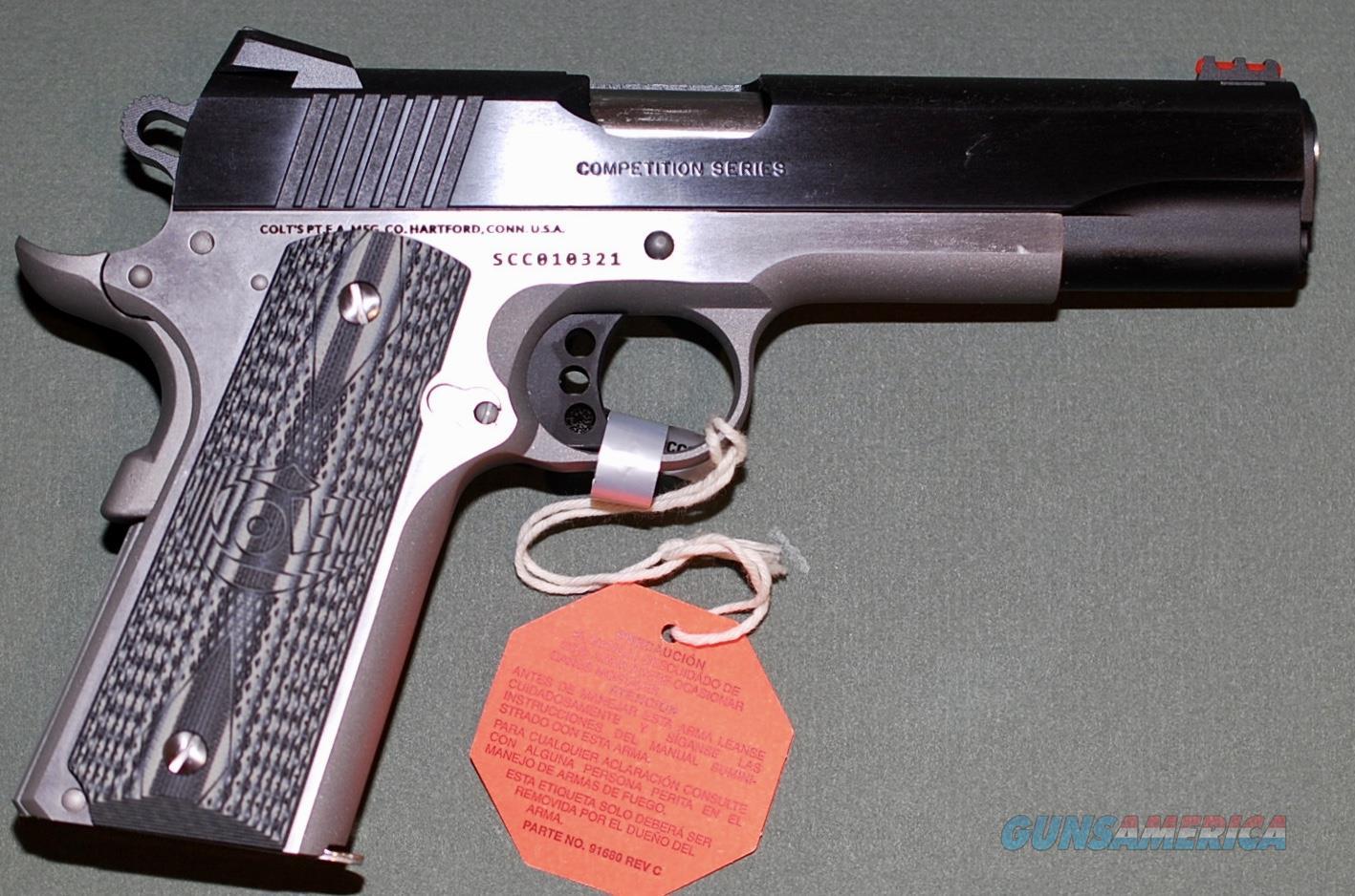 Colt Competition Series .45 Auto Two Tone, NIB  Guns > Pistols > Colt Automatic Pistols (1911 & Var)