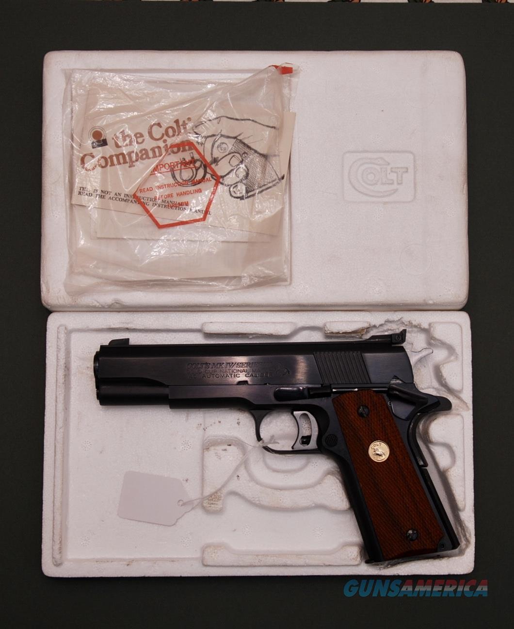 Colt Gold Cup National Match Series 70  Guns > Pistols > Colt Automatic Pistols (1911 & Var)