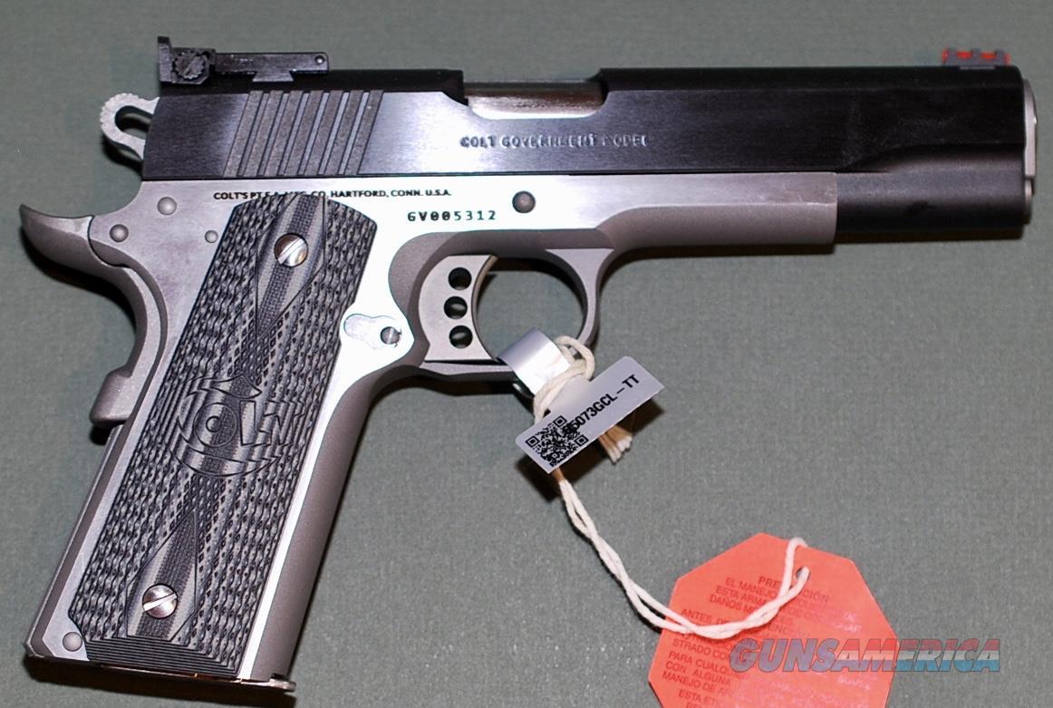 Colt Gold Cup Lite two tone .38 Super, NIB  Guns > Pistols > Colt Automatic Pistols (1911 & Var)